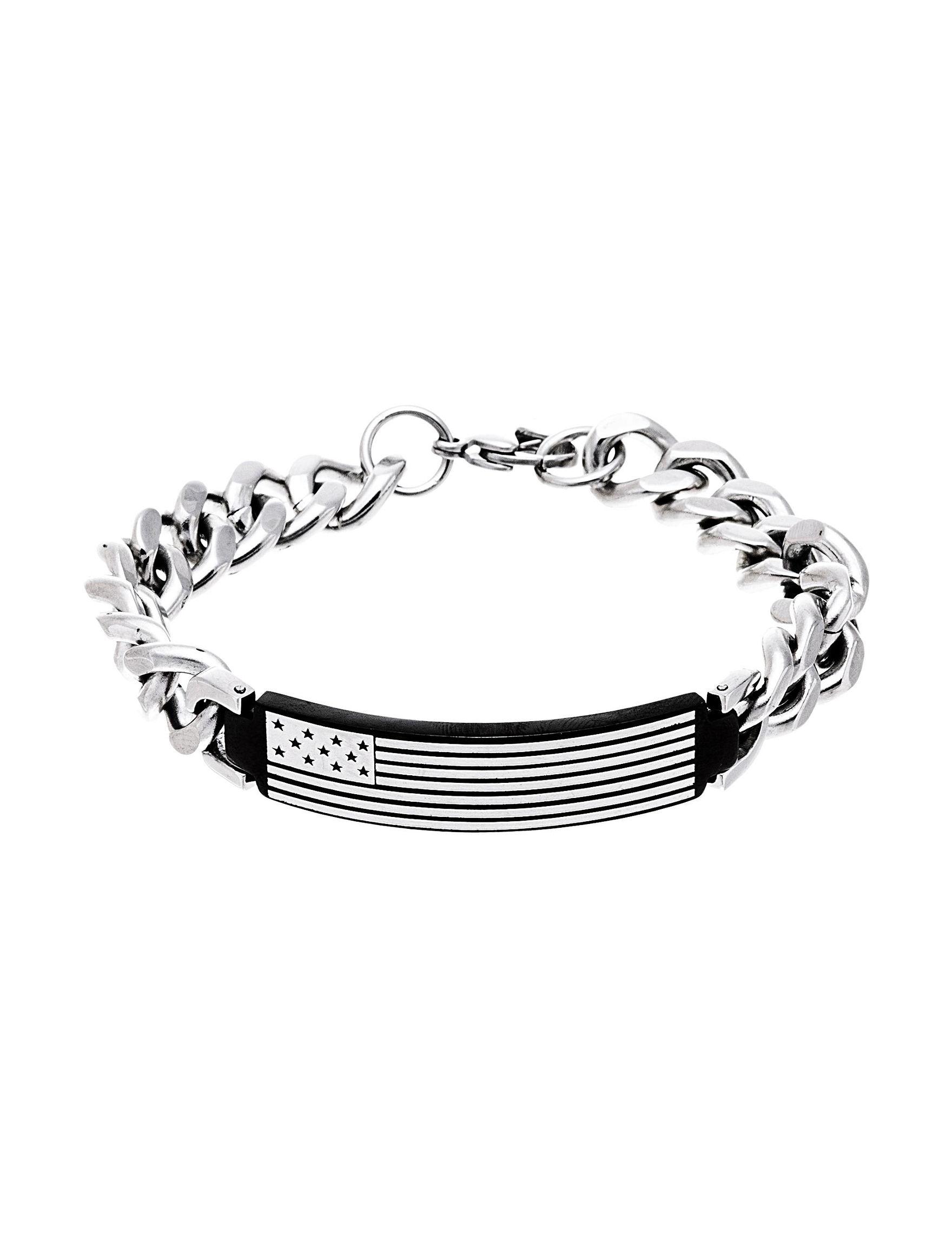 NES Stainless Steel Bracelets Fine Jewelry