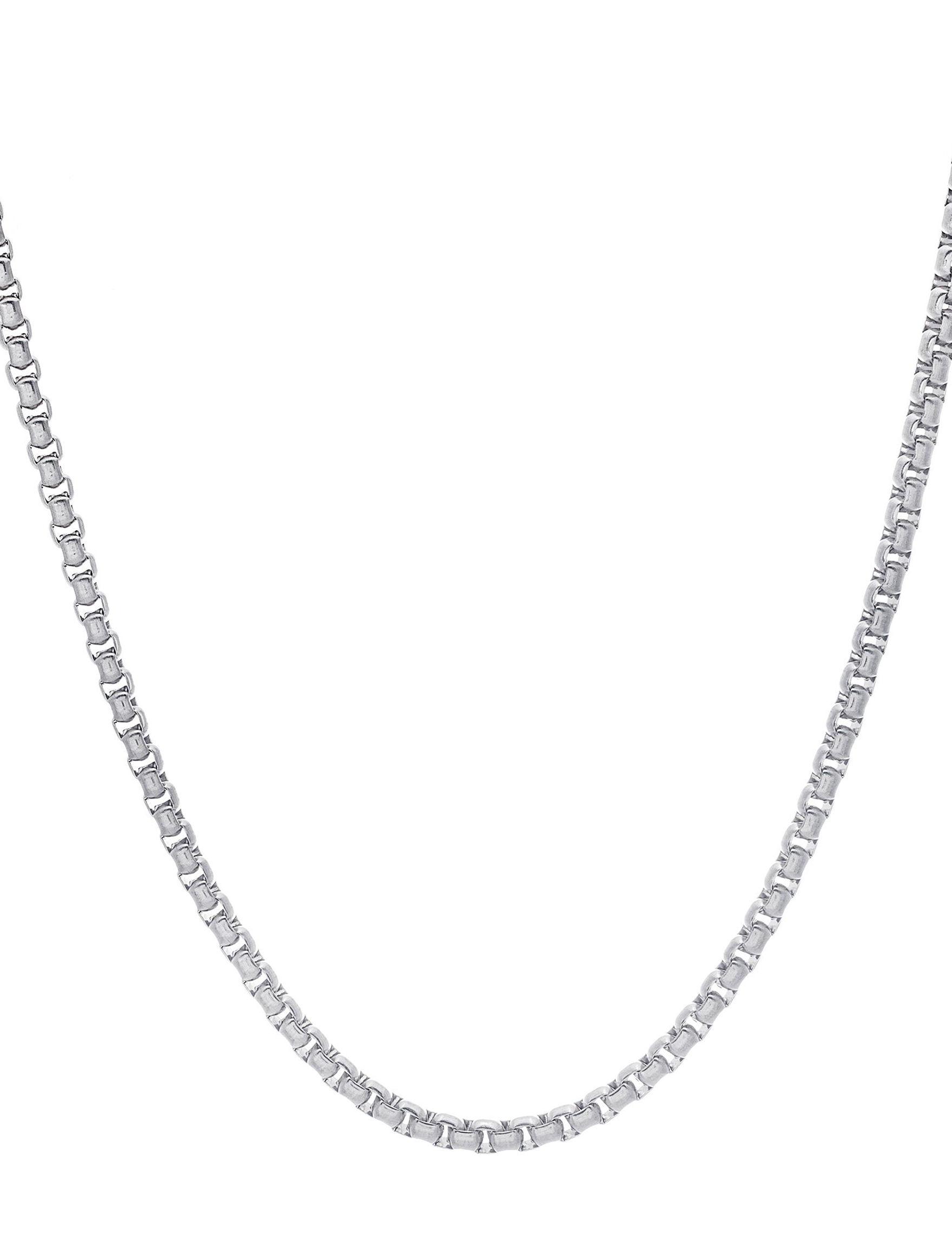 NES Stainless Steel Necklaces & Pendants Fine Jewelry