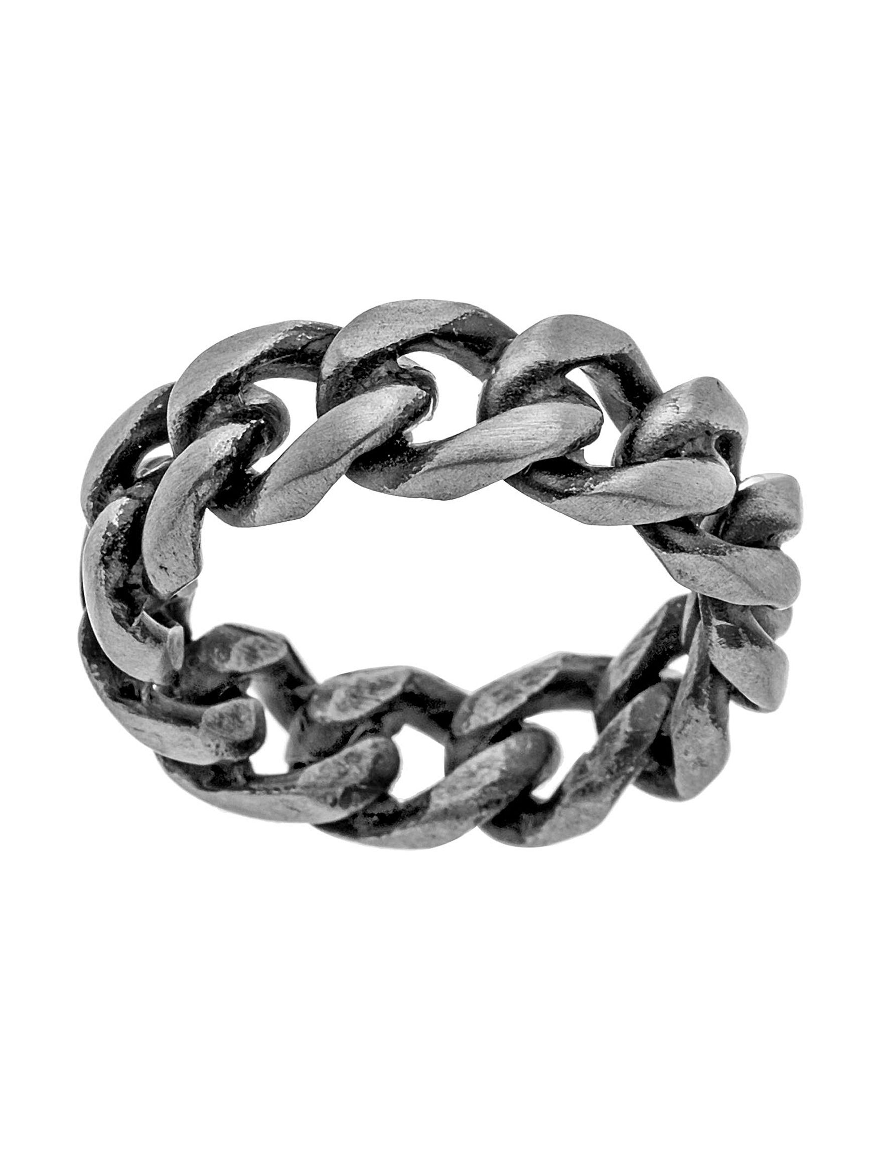 NES Stainless Steel Rings Fine Jewelry