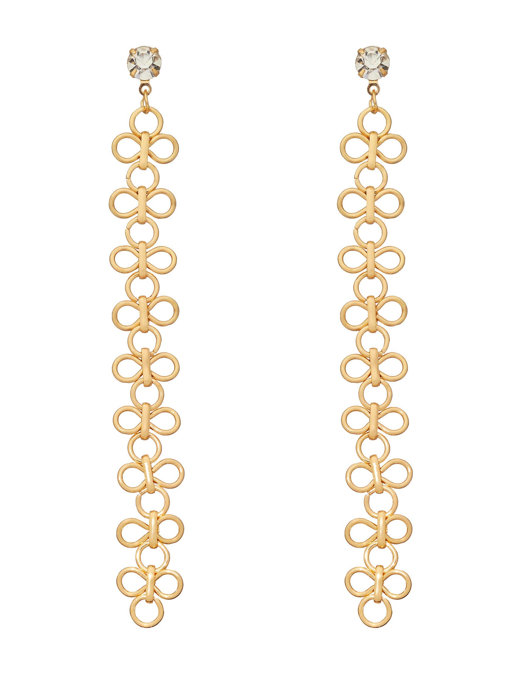 NES Gold Drops Earrings Fine Jewelry