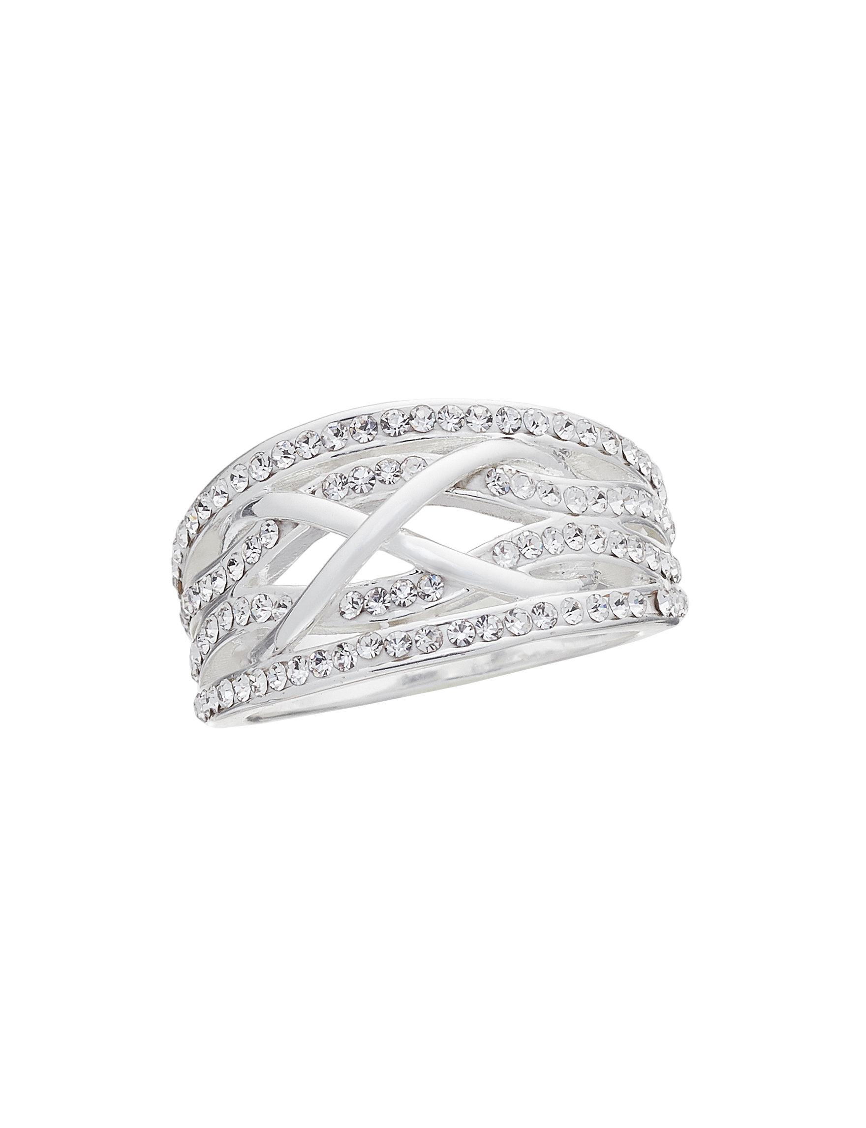 Marsala Fine Silver Plated Rings Fine Jewelry