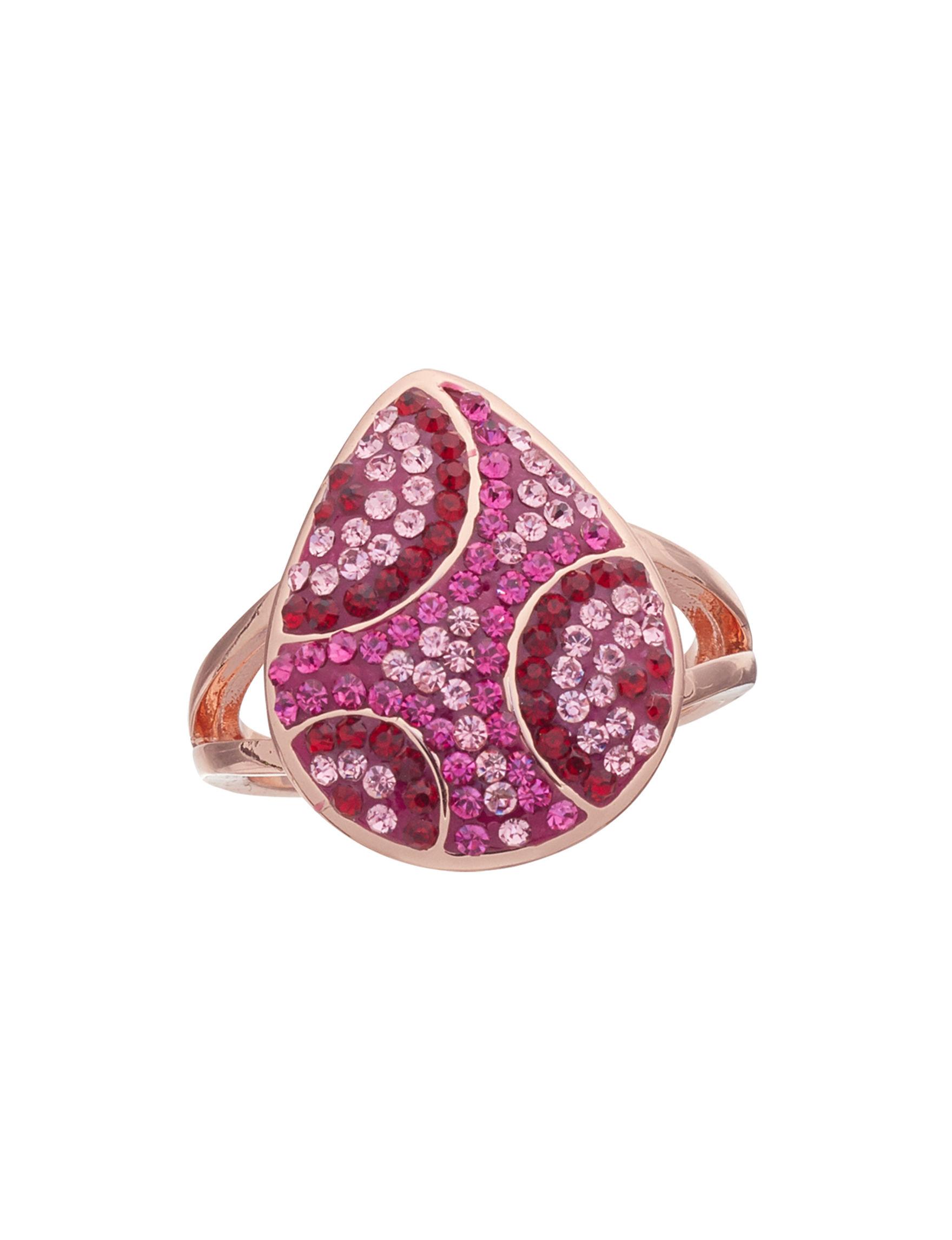 Marsala Rose Gold Rings Fine Jewelry