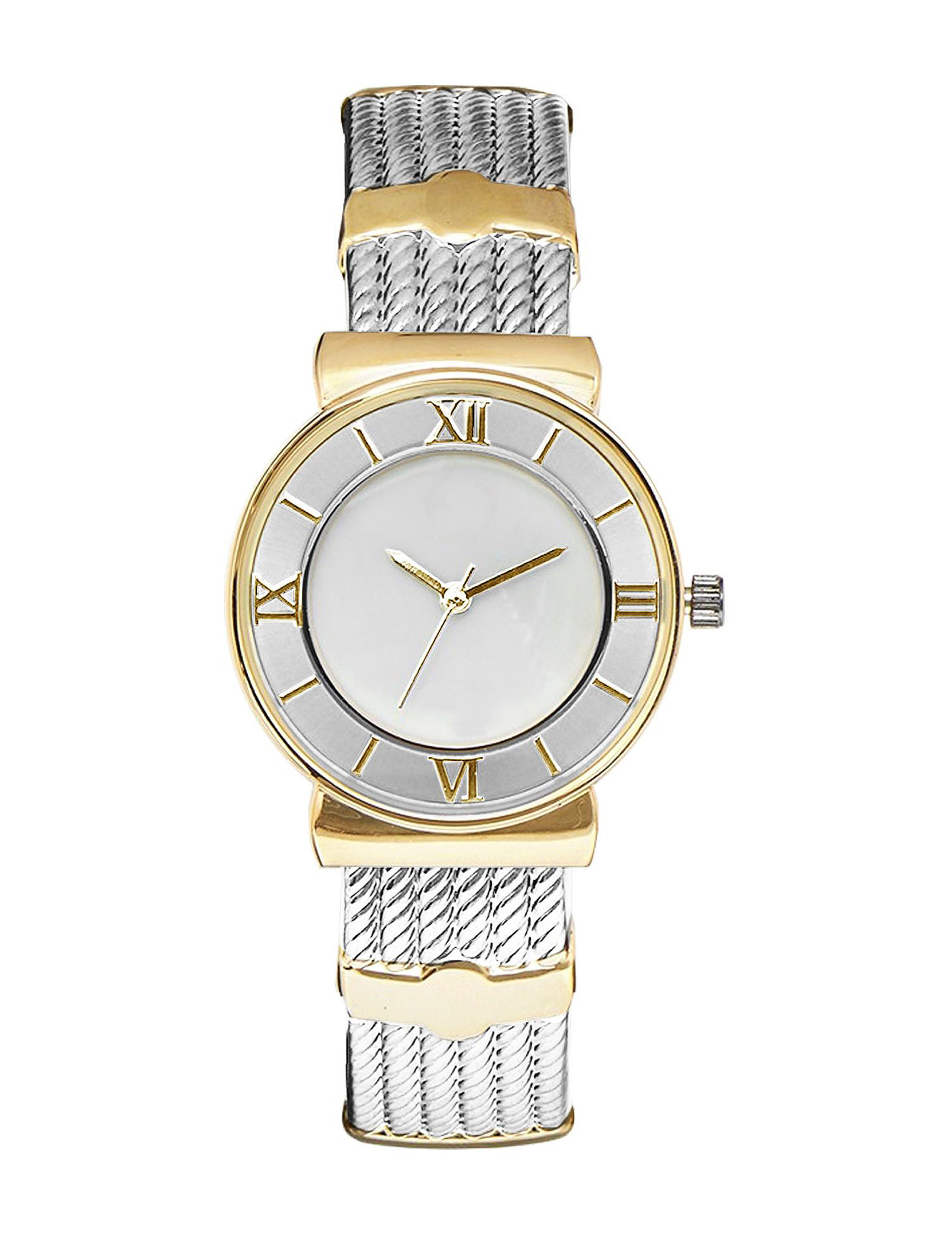 Global Time Silver / Gold Fashion Watches