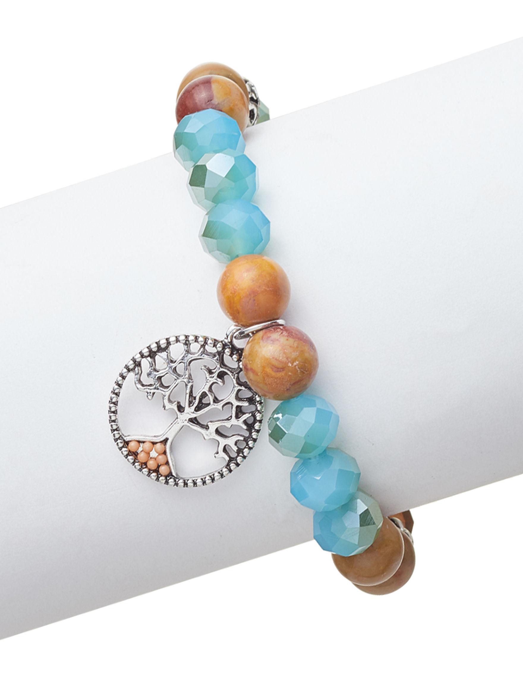 Marsala Blue Multi Bracelets Fine Jewelry