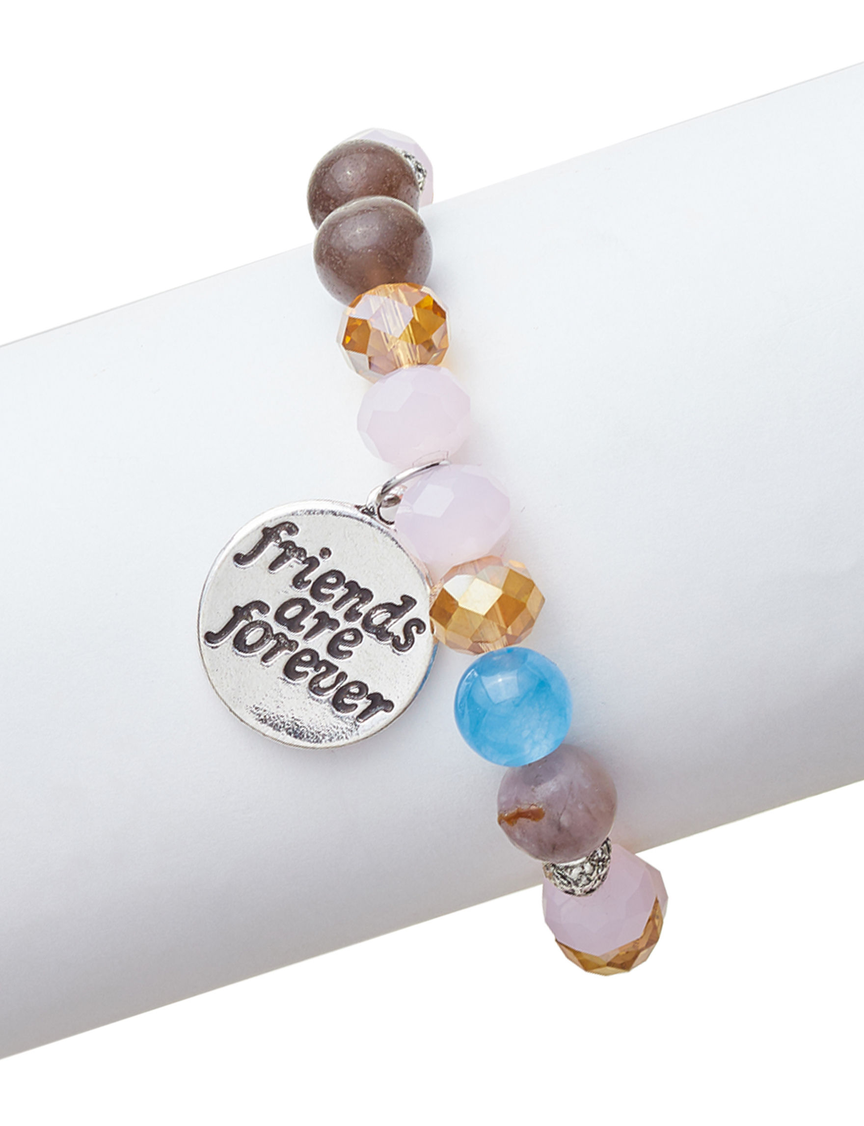 Marsala Silver / Black Bracelets Fine Jewelry