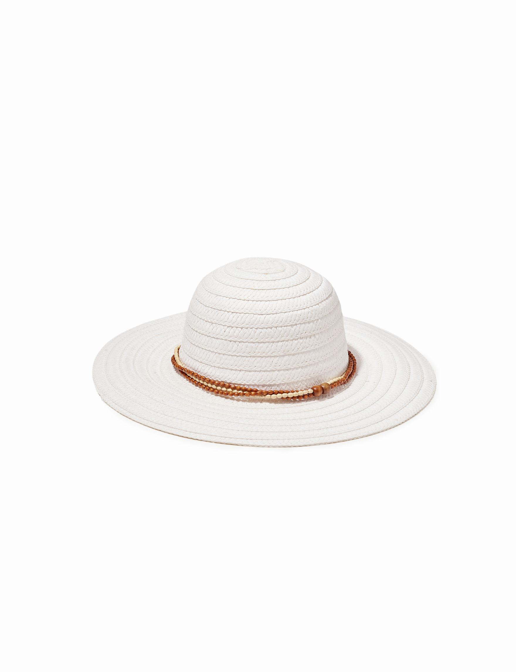 Columbino White Hats & Headwear