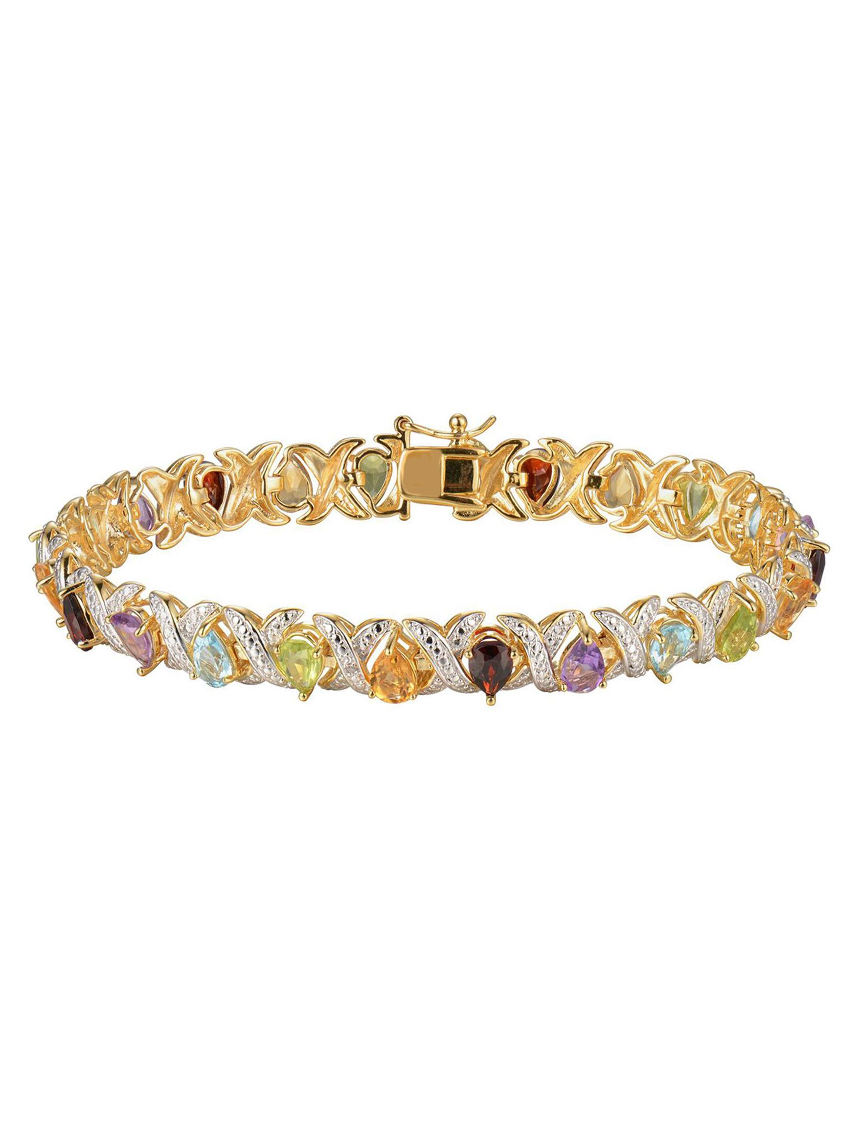 PAJ INC. Gold / Gemstone Bracelets Fine Jewelry