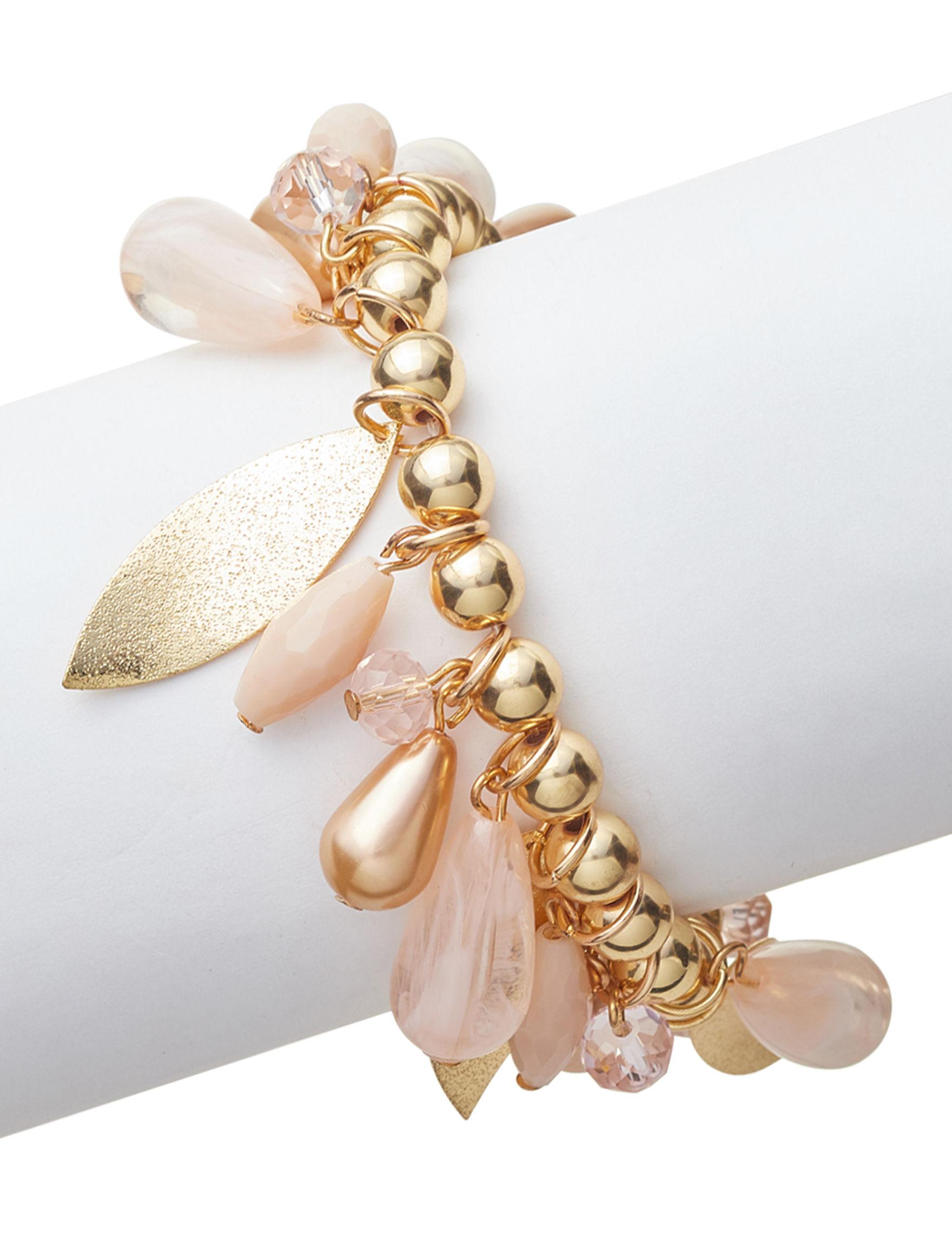 Hannah Pink Bracelets Fashion Jewelry