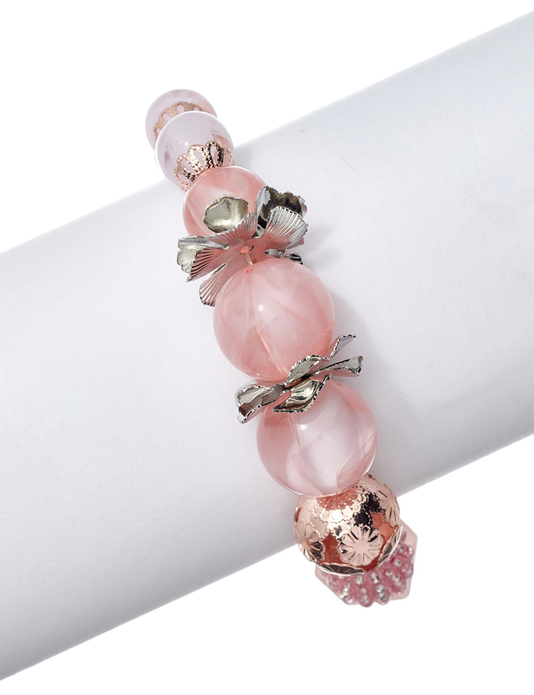 Hannah Pink Quartz Fashion Jewelry
