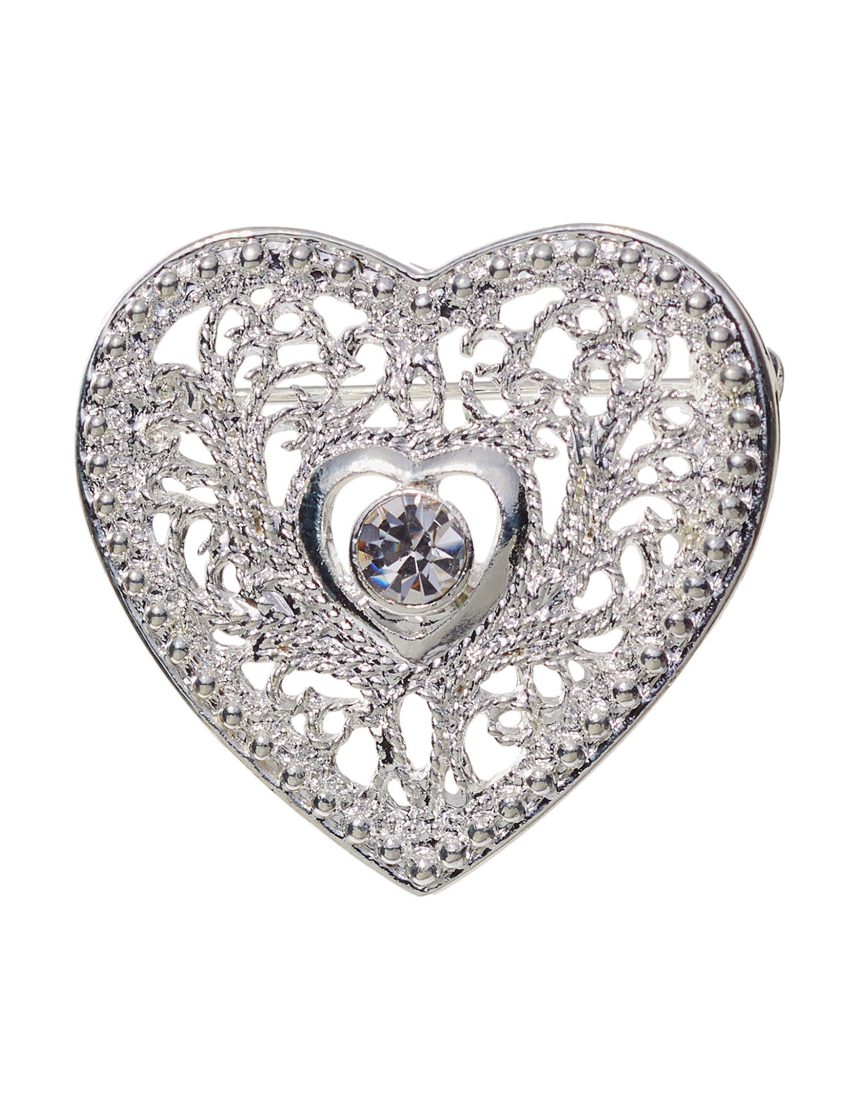 Hannah Silver Pins Fashion Jewelry