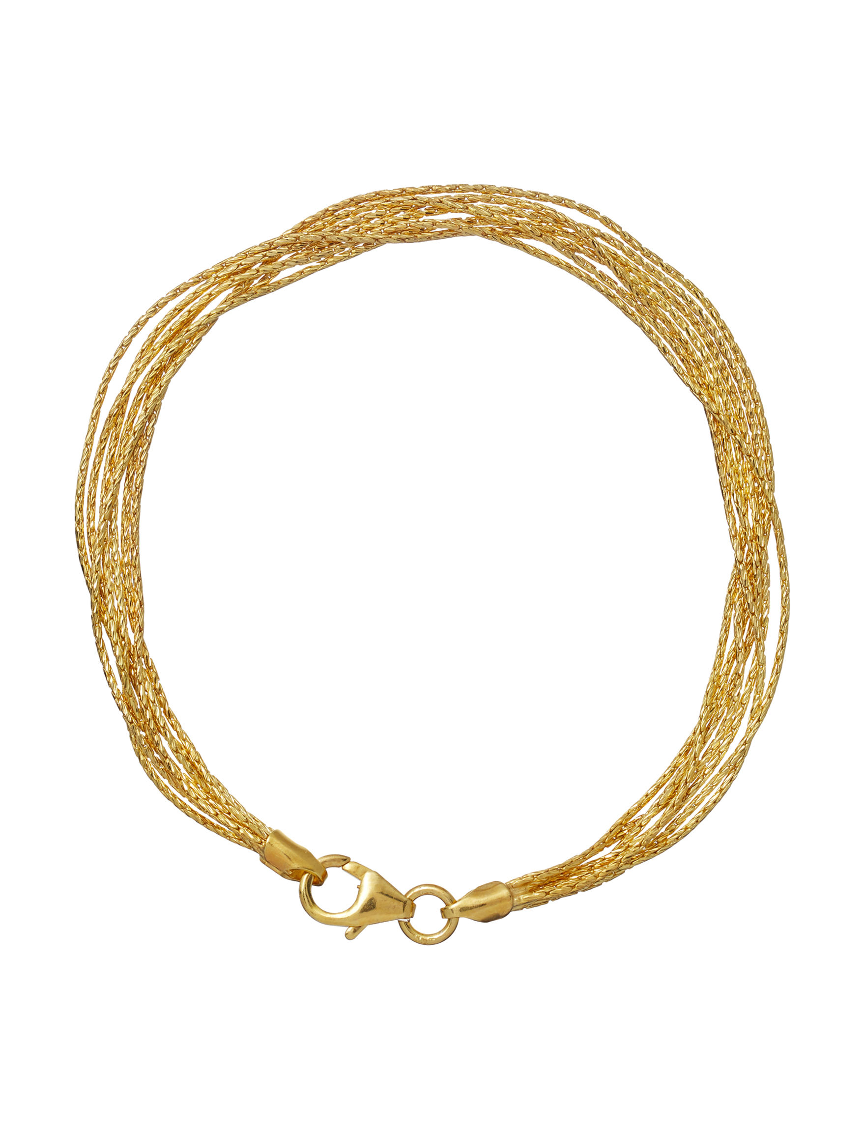 Danecraft Gold Bracelets Fine Jewelry