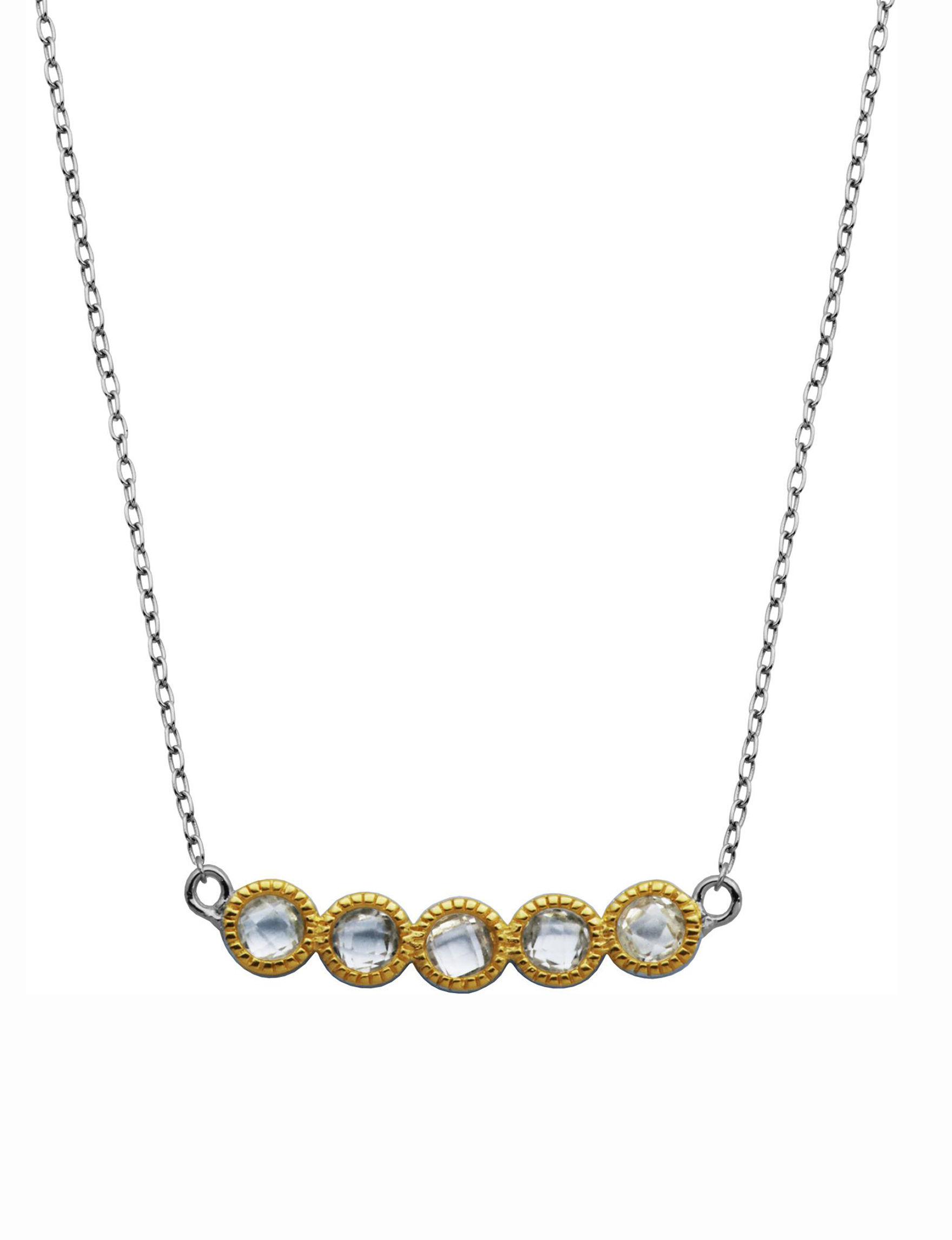 PAJ INC. Silver / Gold Necklaces & Pendants Fine Jewelry