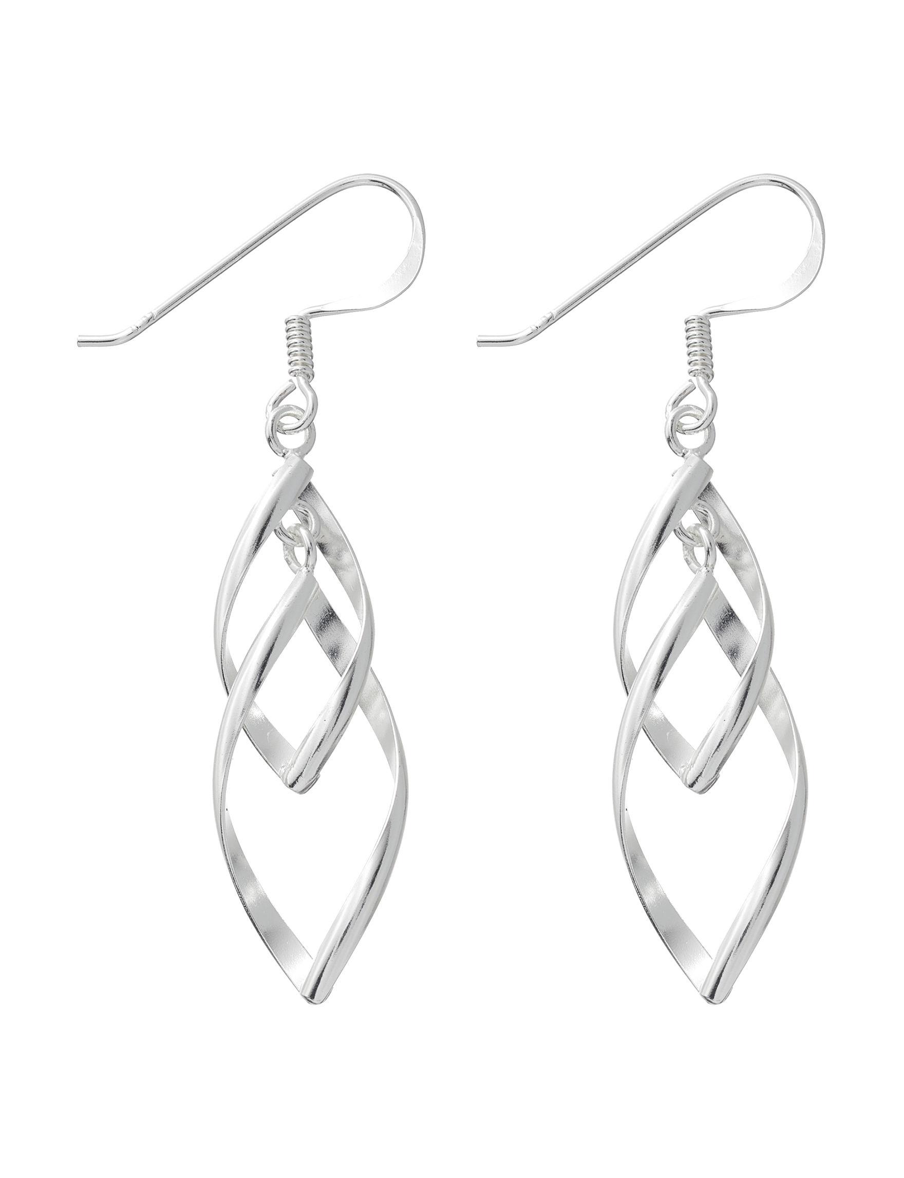 Marsala Sterling Silver Earrings Fine Jewelry