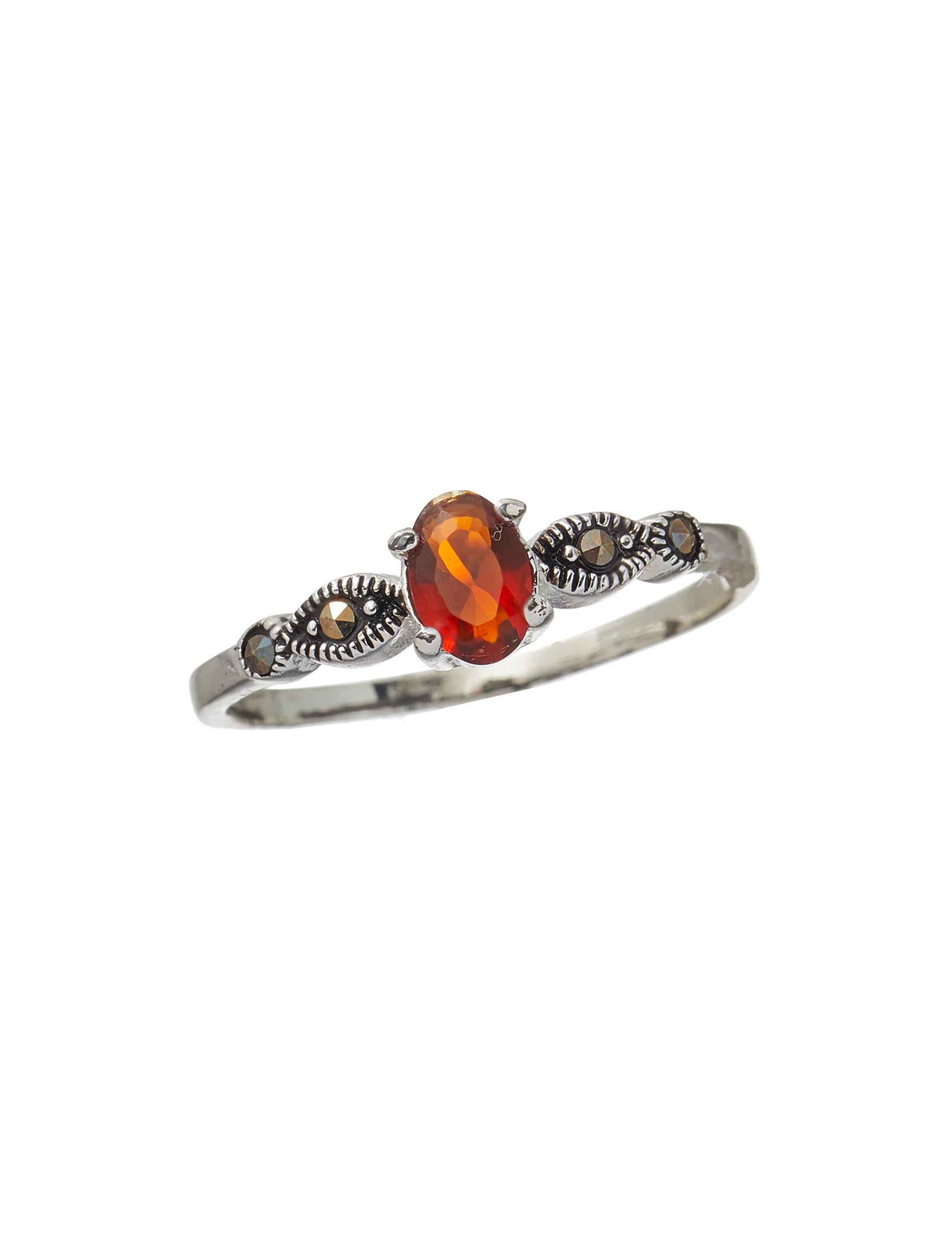 Marsala Garnet Rings Fine Jewelry