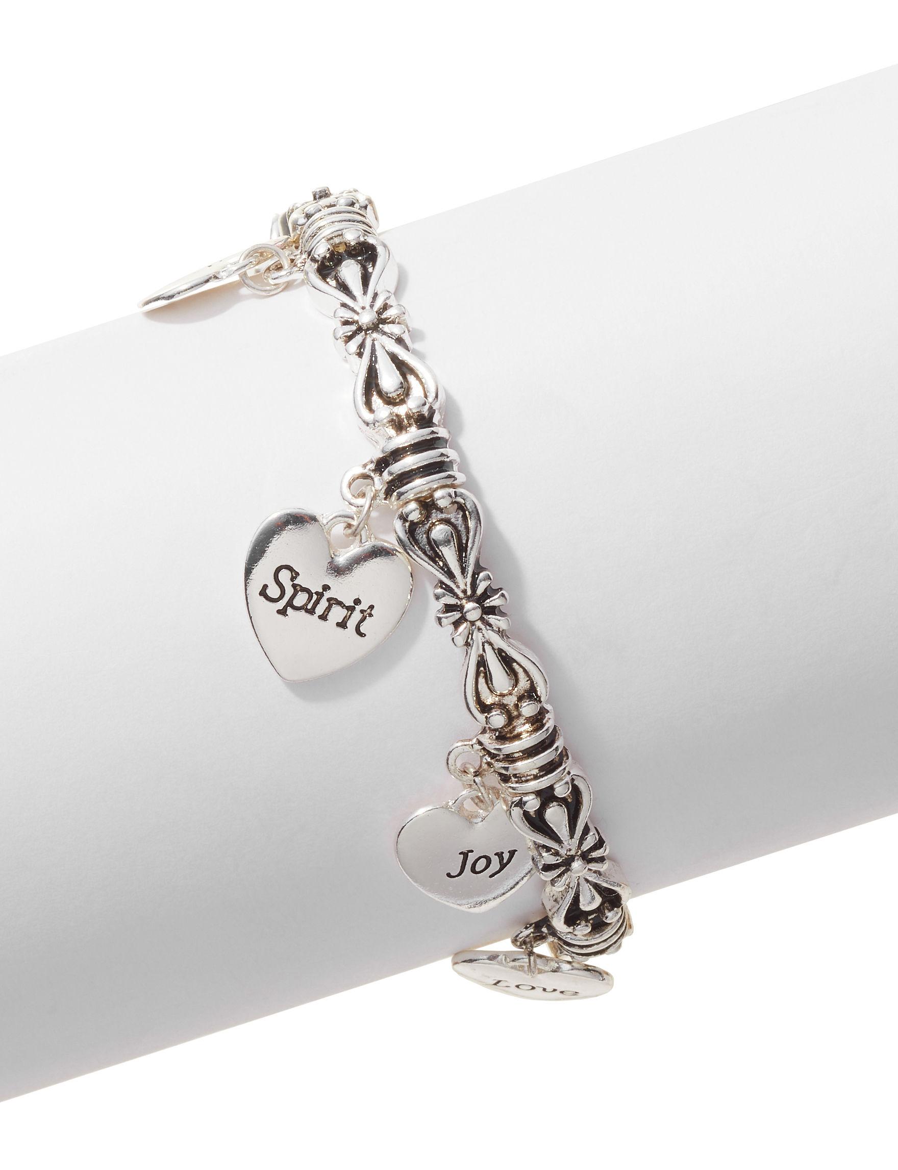 Hannah Silver Bracelets Fashion Jewelry