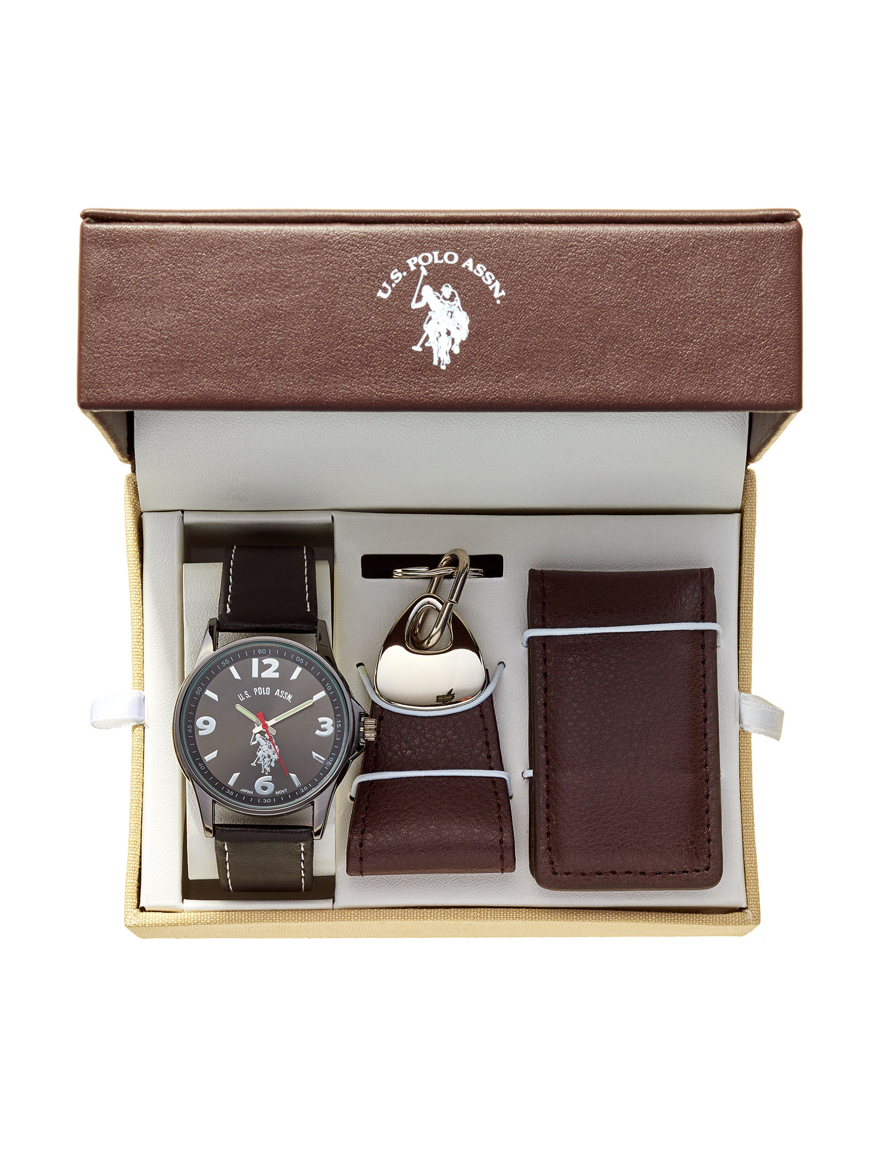 U.S. Polo Assn. Brown Fashion Watches