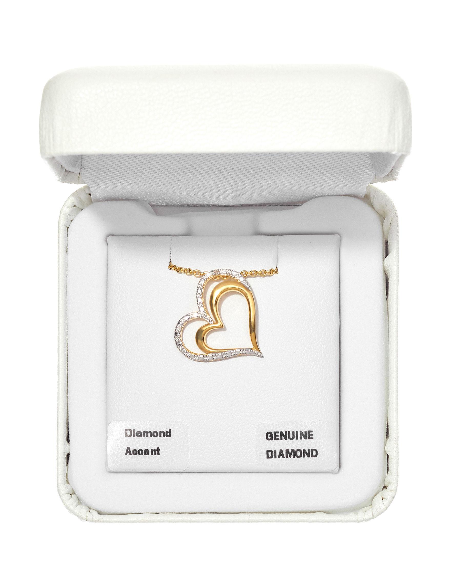Marsala Gold / Gemstone Necklaces & Pendants Fine Jewelry