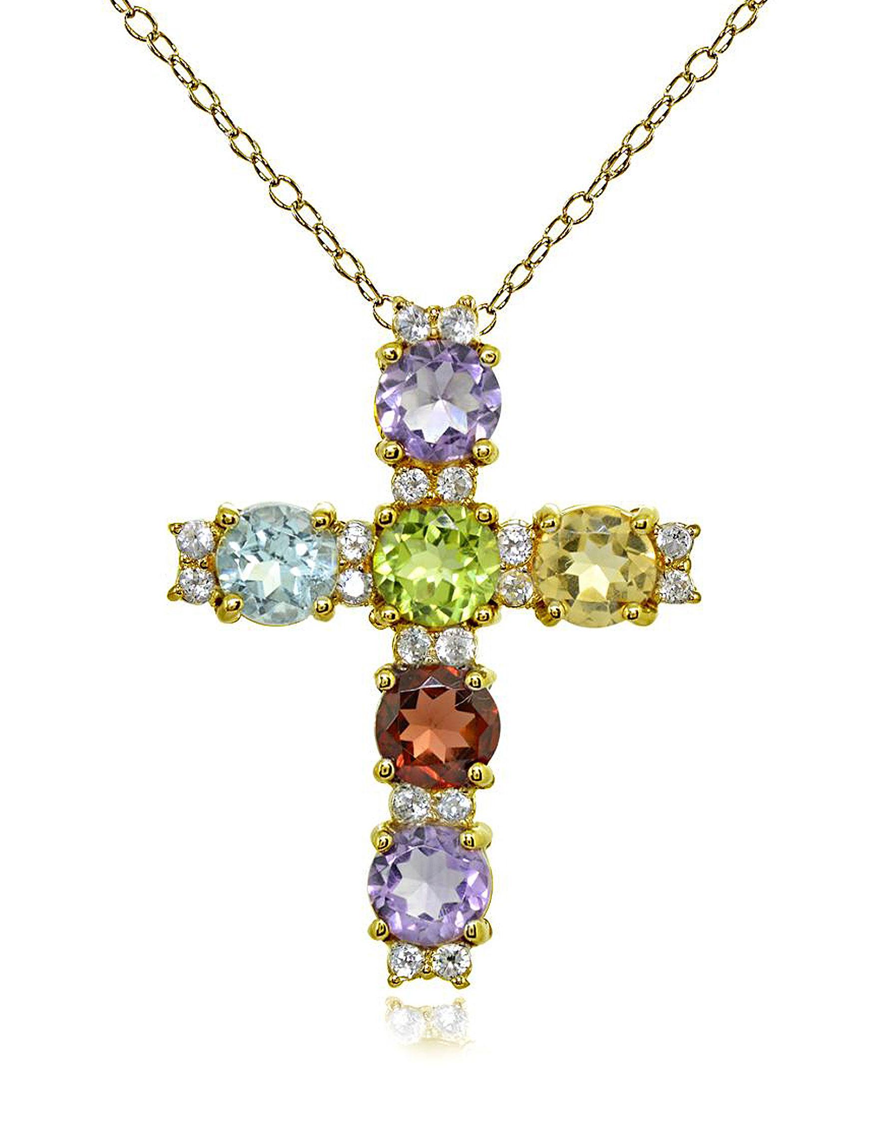 FMC Gold / Gemstone Necklaces & Pendants Fine Jewelry