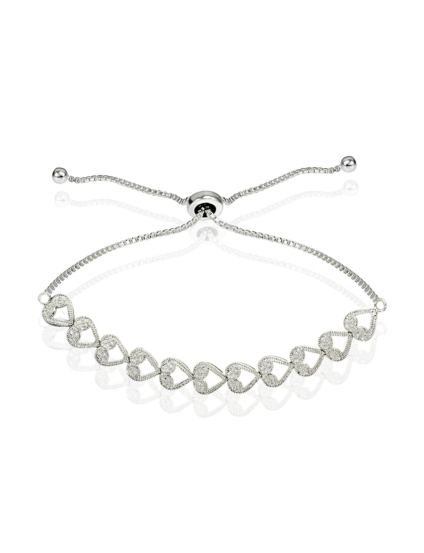 FMC Sterling Silver Bracelets Fine Jewelry