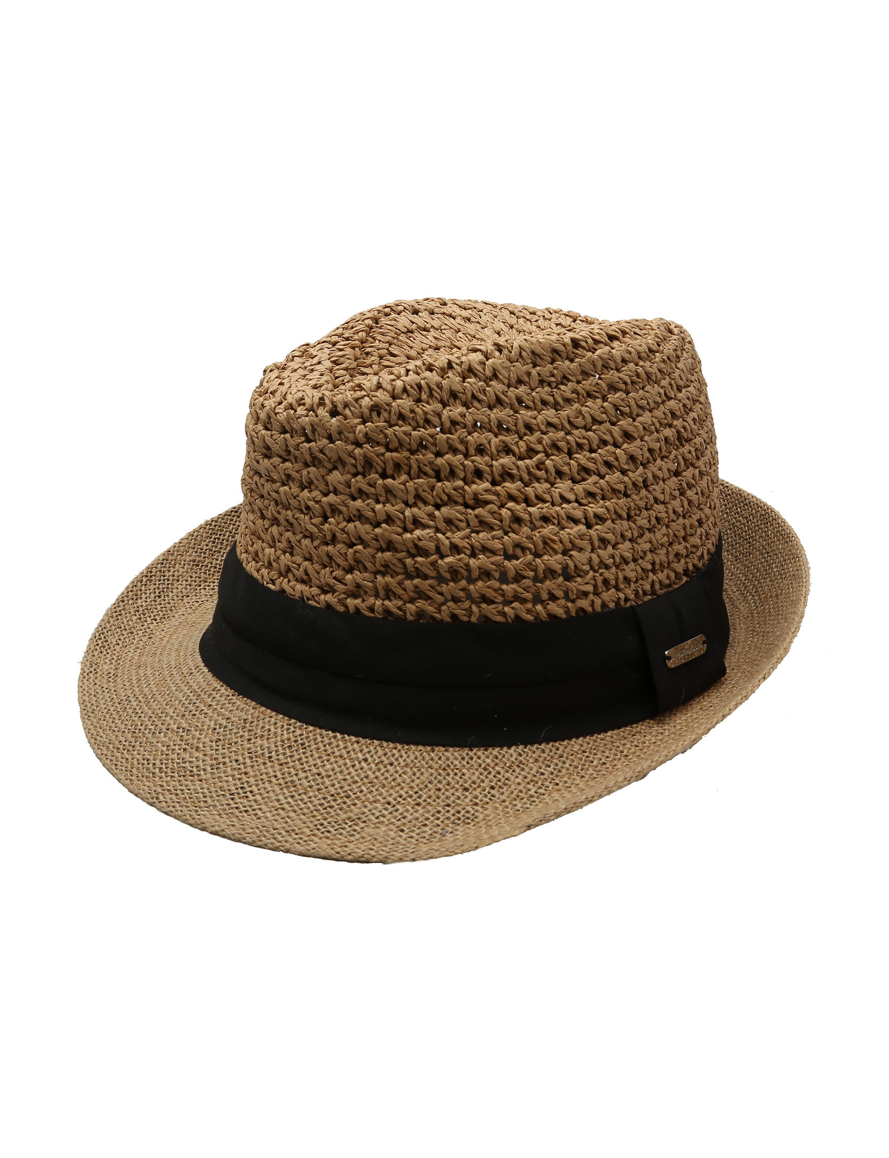 Cejon Tan / Black Hats & Headwear