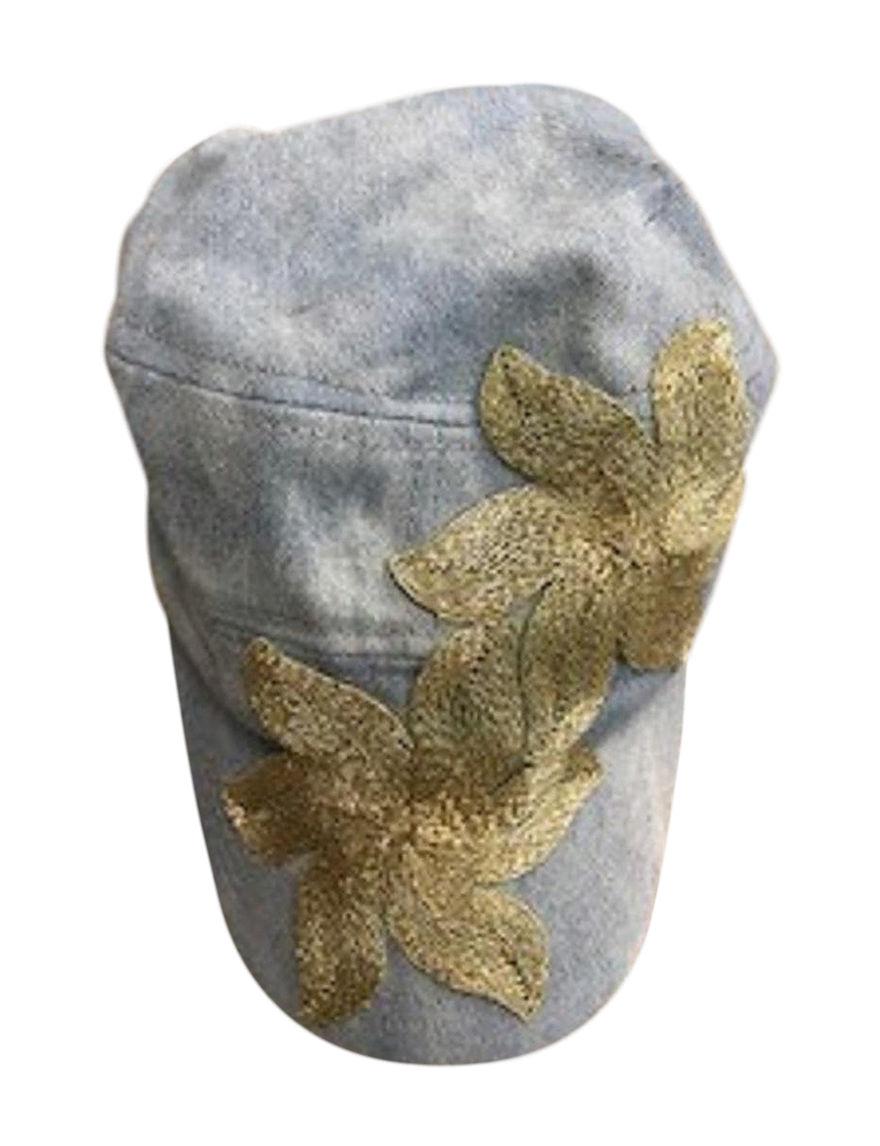 Amiee Lynn Blue / Gold Hats & Headwear