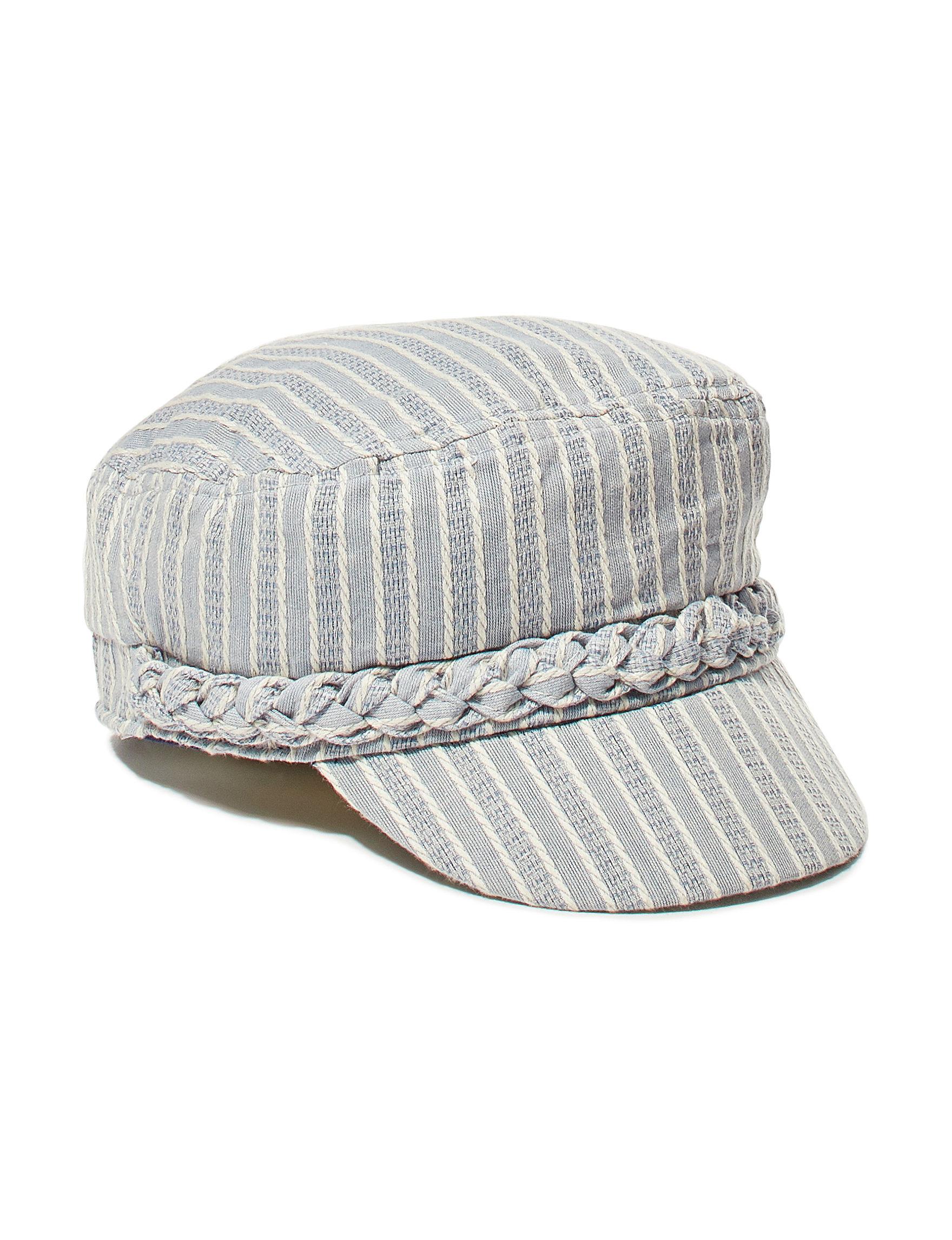Amiee Lynn Grey / White Hats & Headwear Cadet