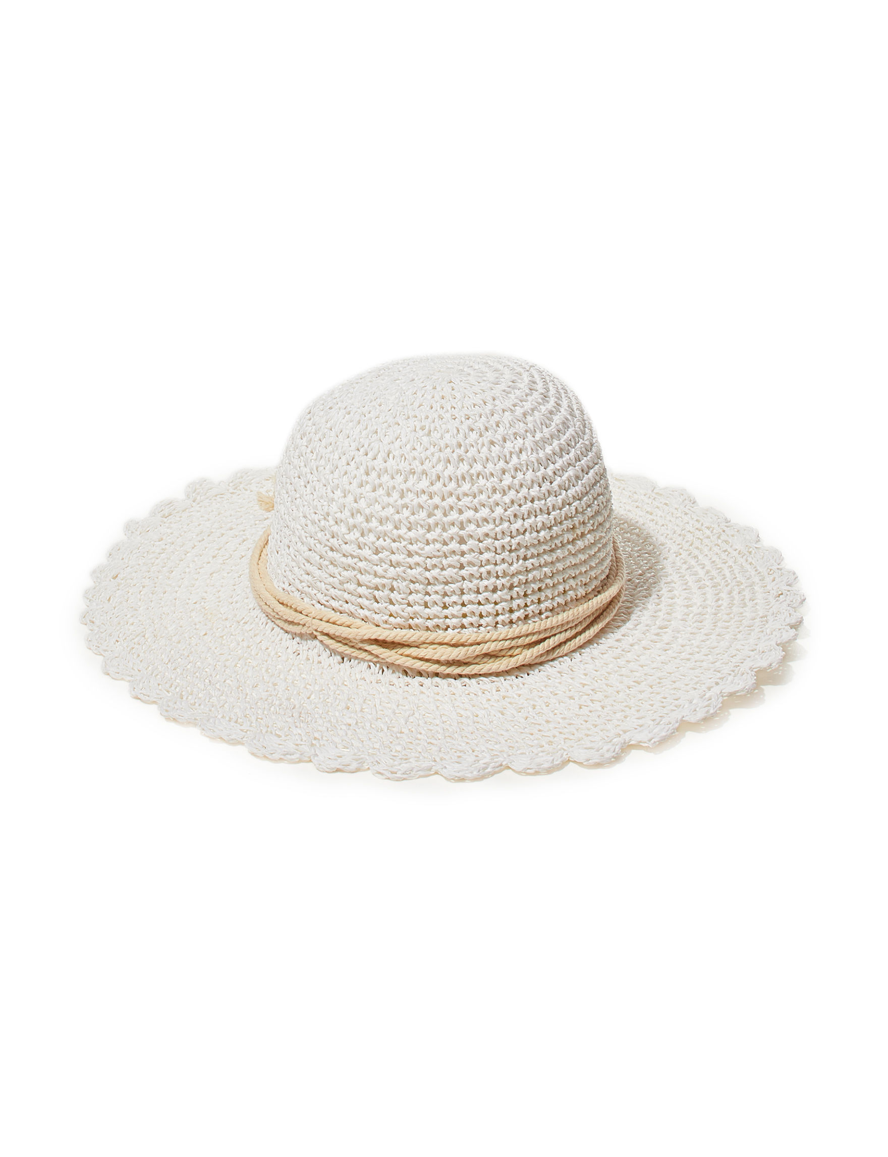 Amiee Lynn White Hats & Headwear
