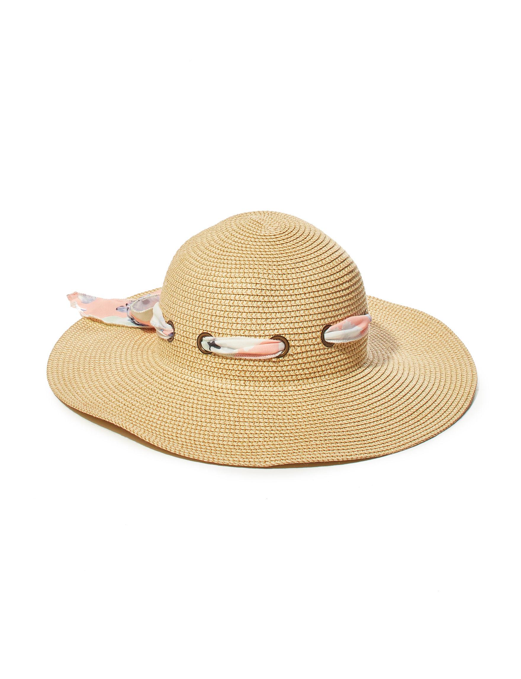 Amiee Lynn Tan Hats & Headwear Floppy Hats