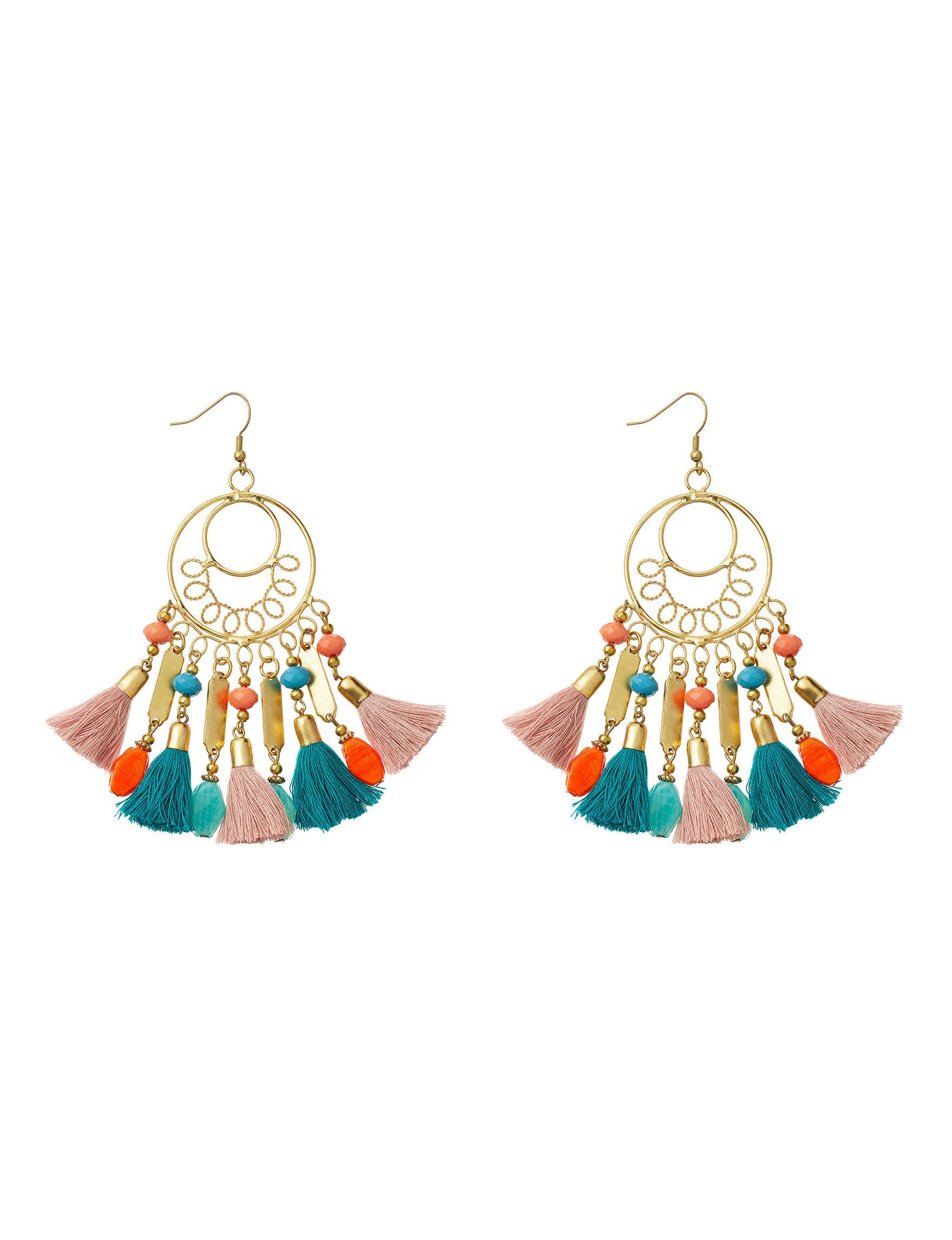 Hannah Gold / Multi Drops Earrings Fashion Jewelry