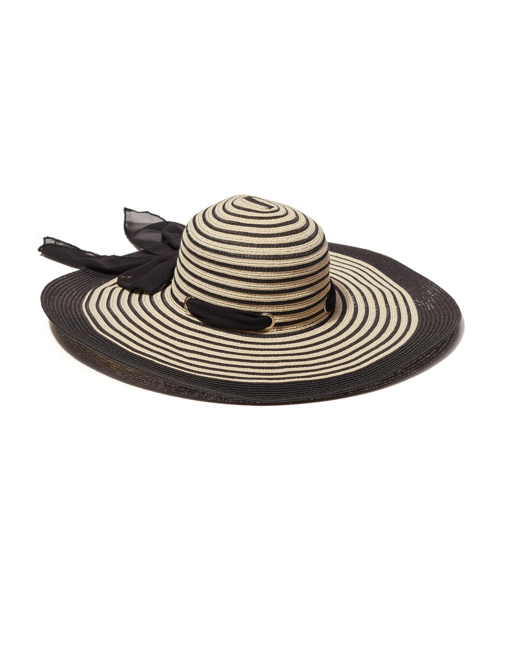 David & Young Black / White Hats & Headwear
