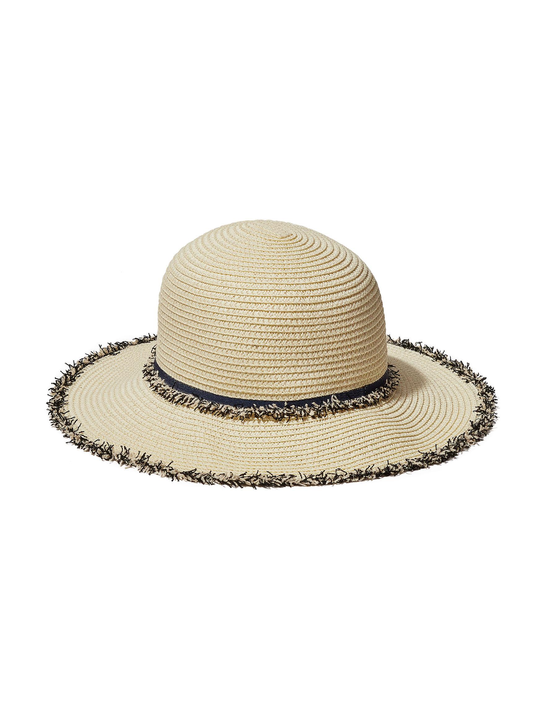 David & Young White / Black Hats & Headwear
