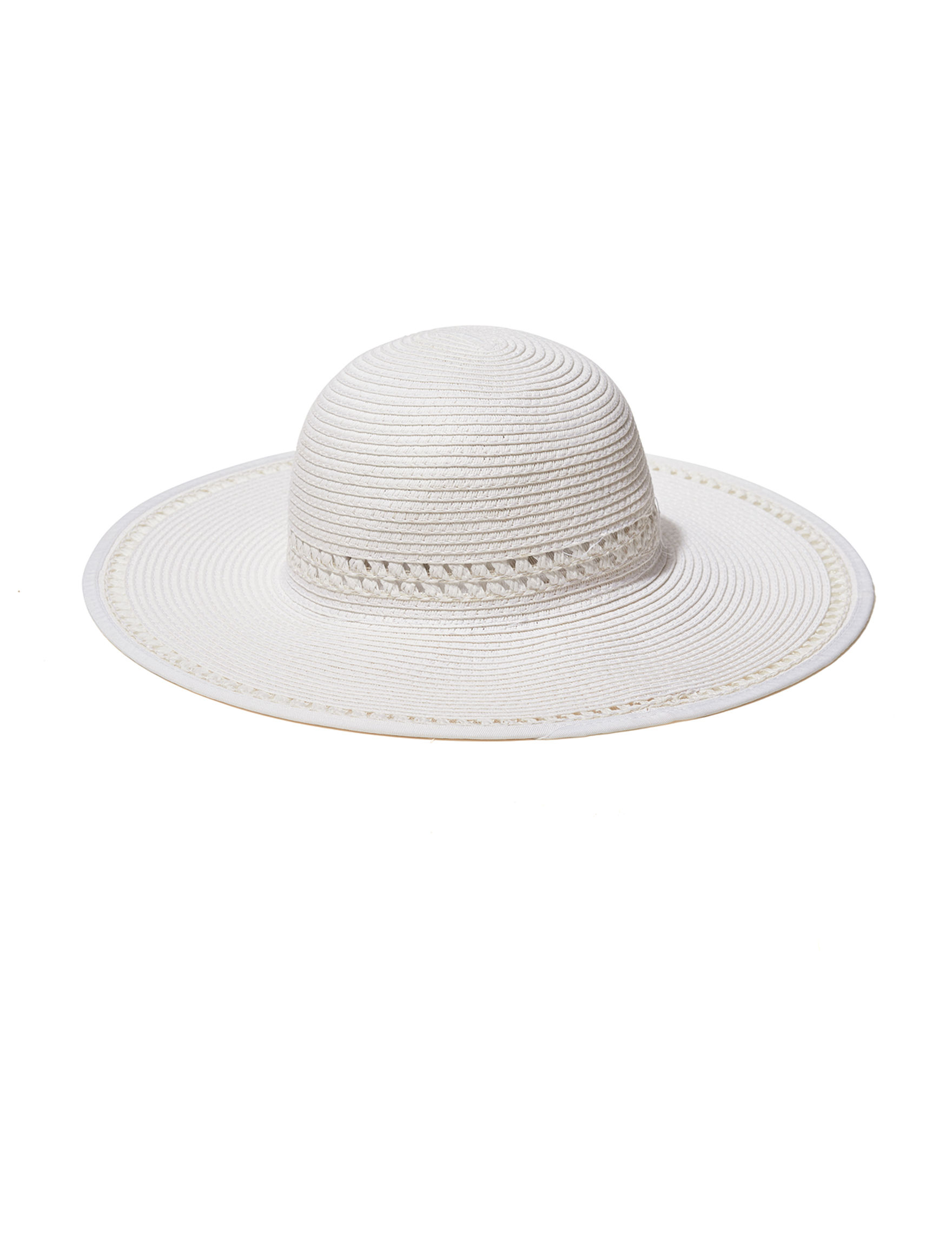 David & Young White Hats & Headwear
