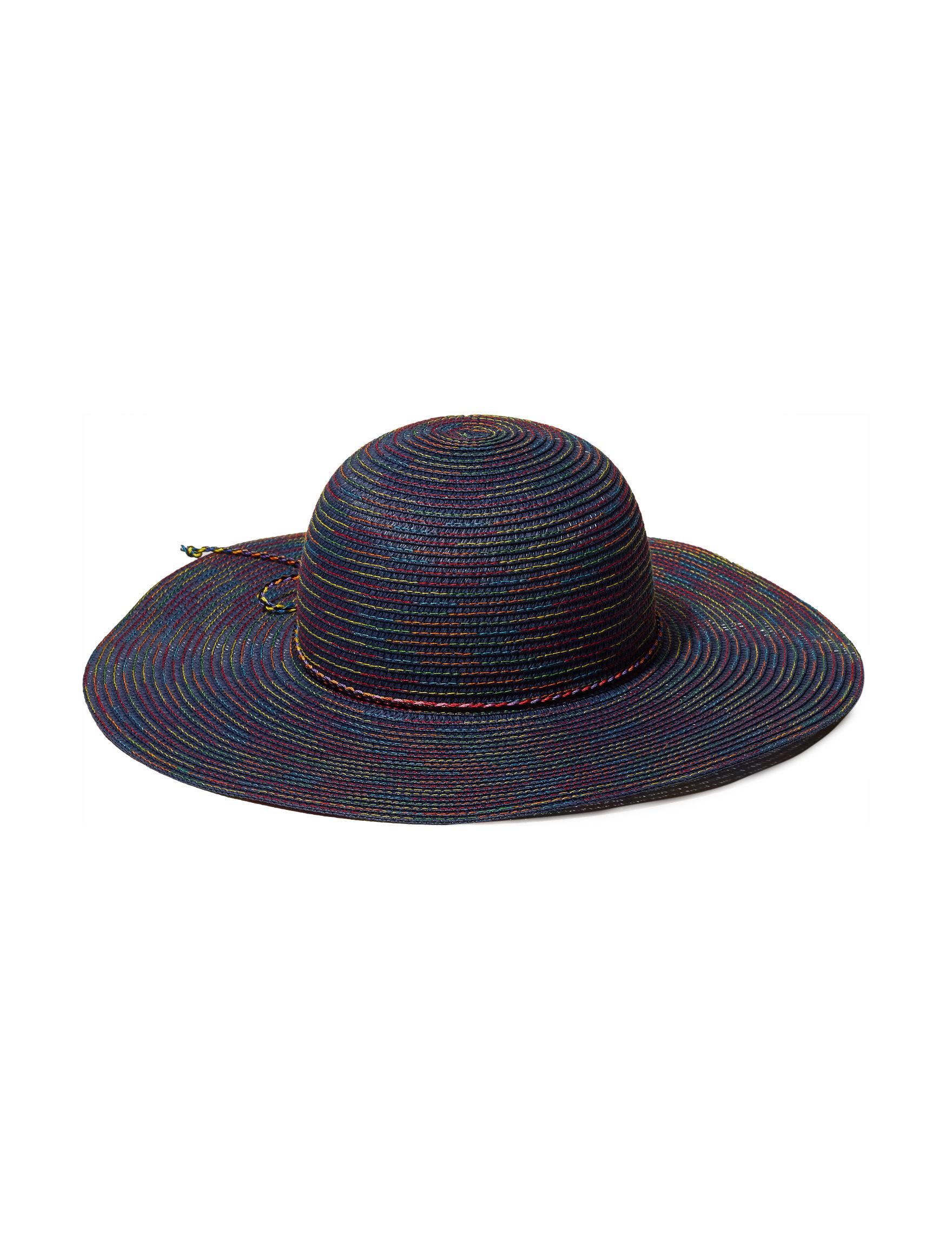 Amiee Lynn Navy Hats & Headwear