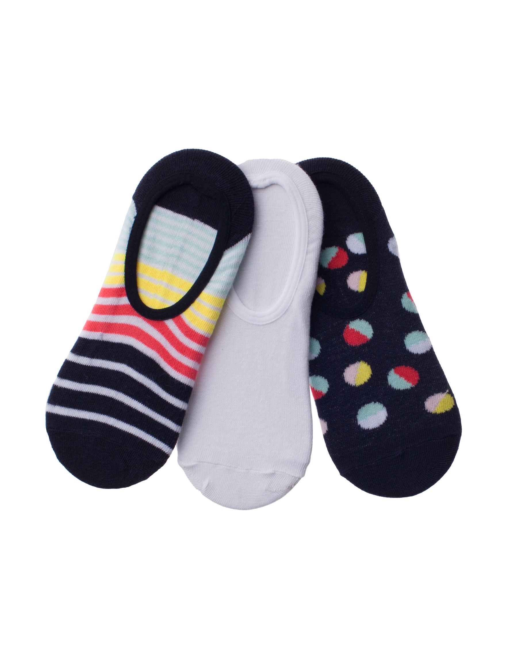Capelli Navy Multi Socks