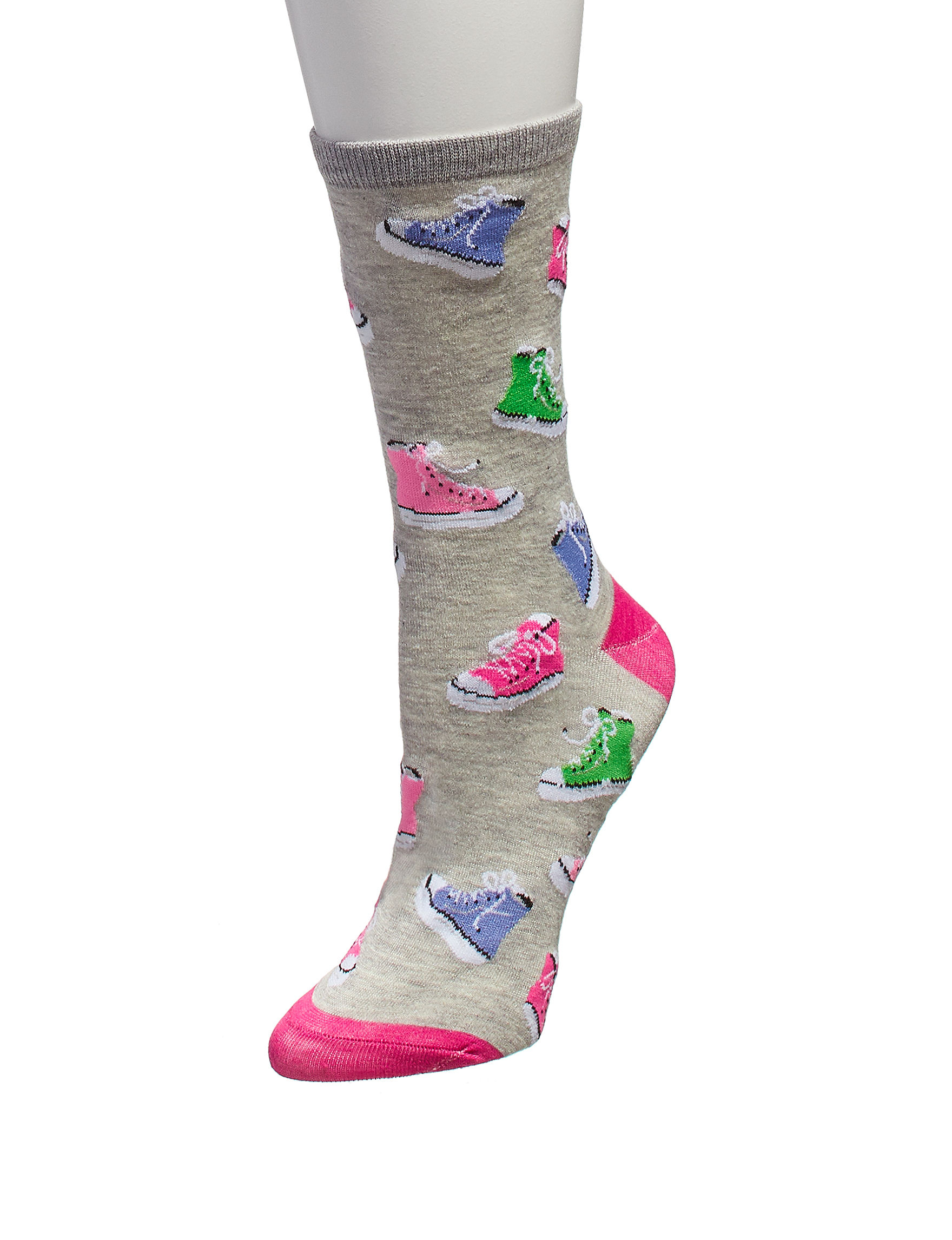 Keep Your Socks On Grey Socks