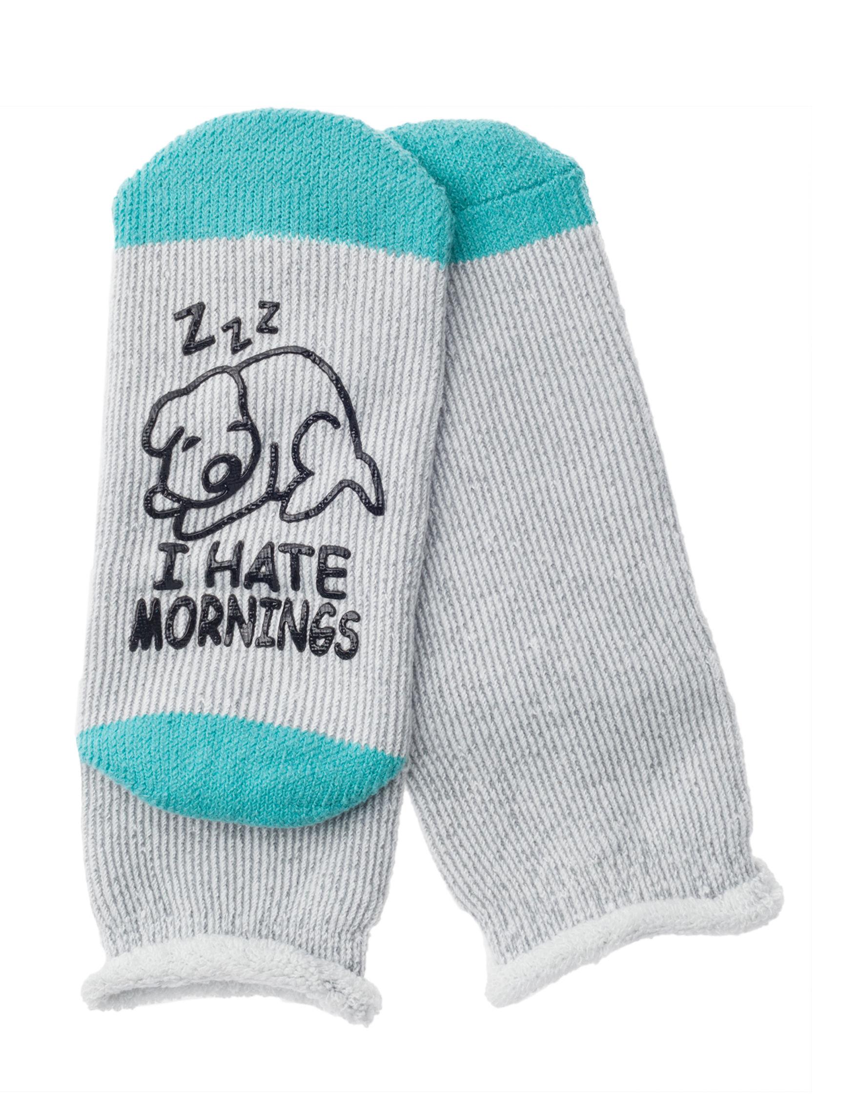 Keep Your Socks On Blue Socks