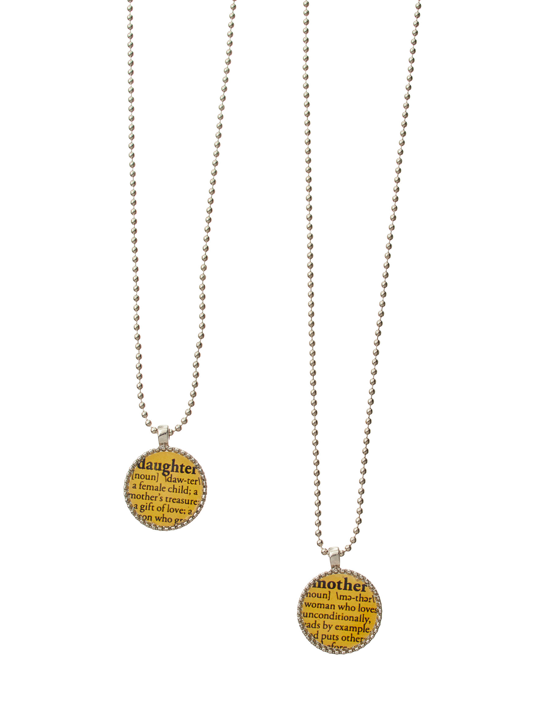 Tanya Silver / Gold / Black Necklaces & Pendants Fashion Jewelry