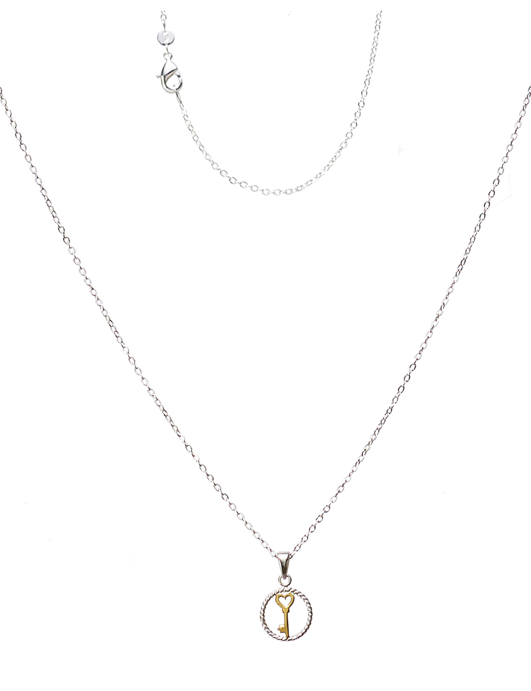 Marsala Two Tone Necklaces & Pendants Fine Jewelry