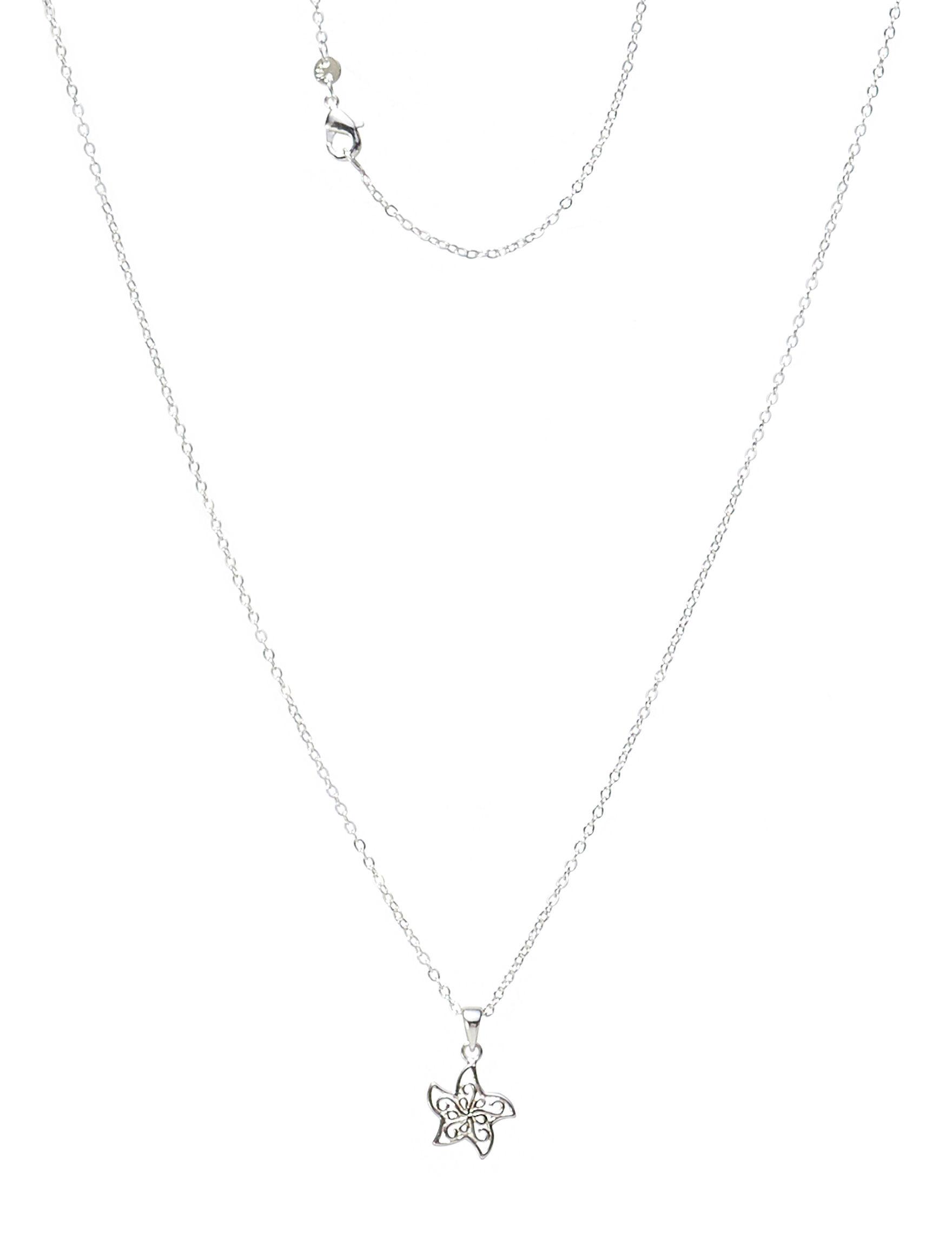 Marsala Silver Necklaces & Pendants Fine Jewelry