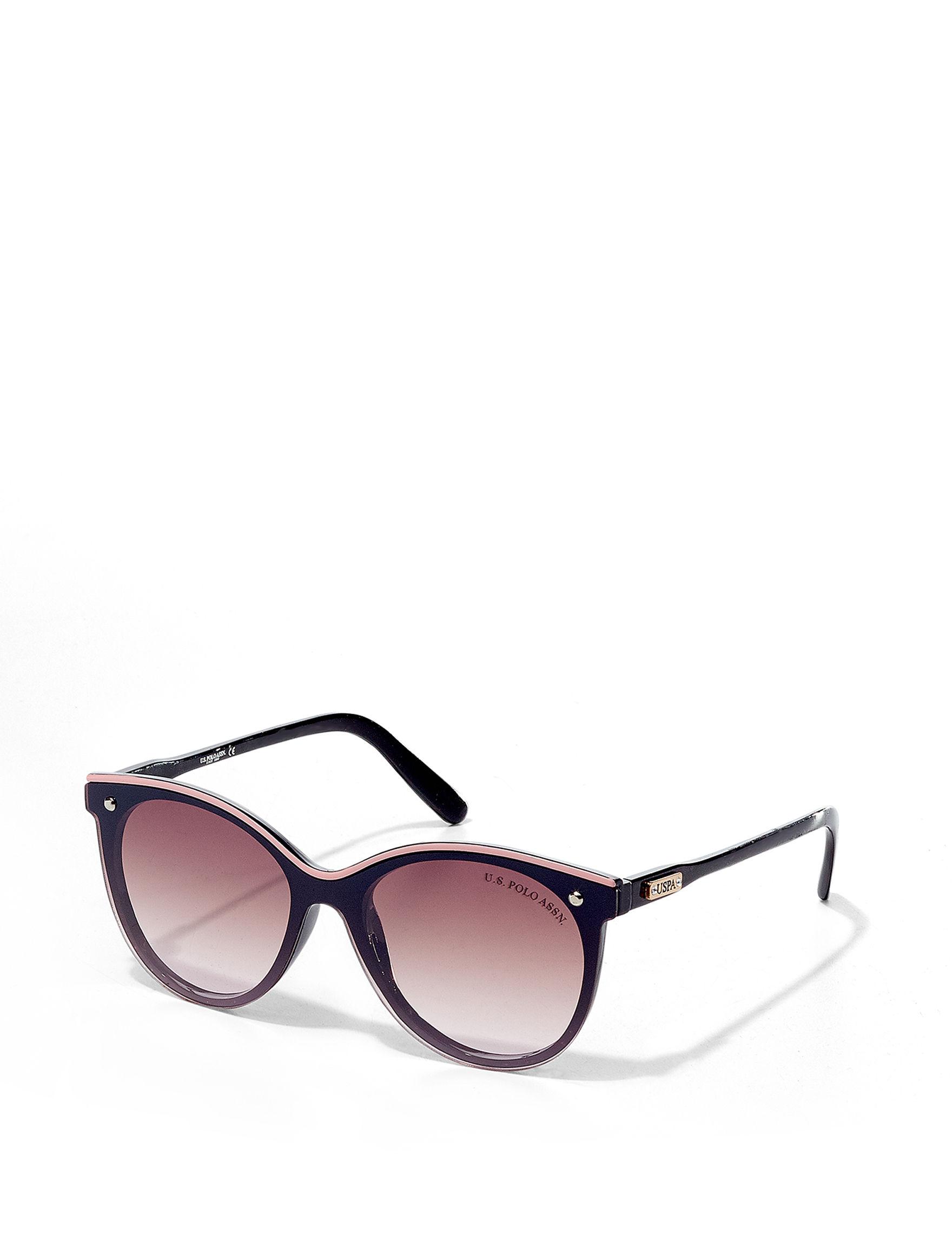U.S. Polo Assn. Black / Pink Cateye