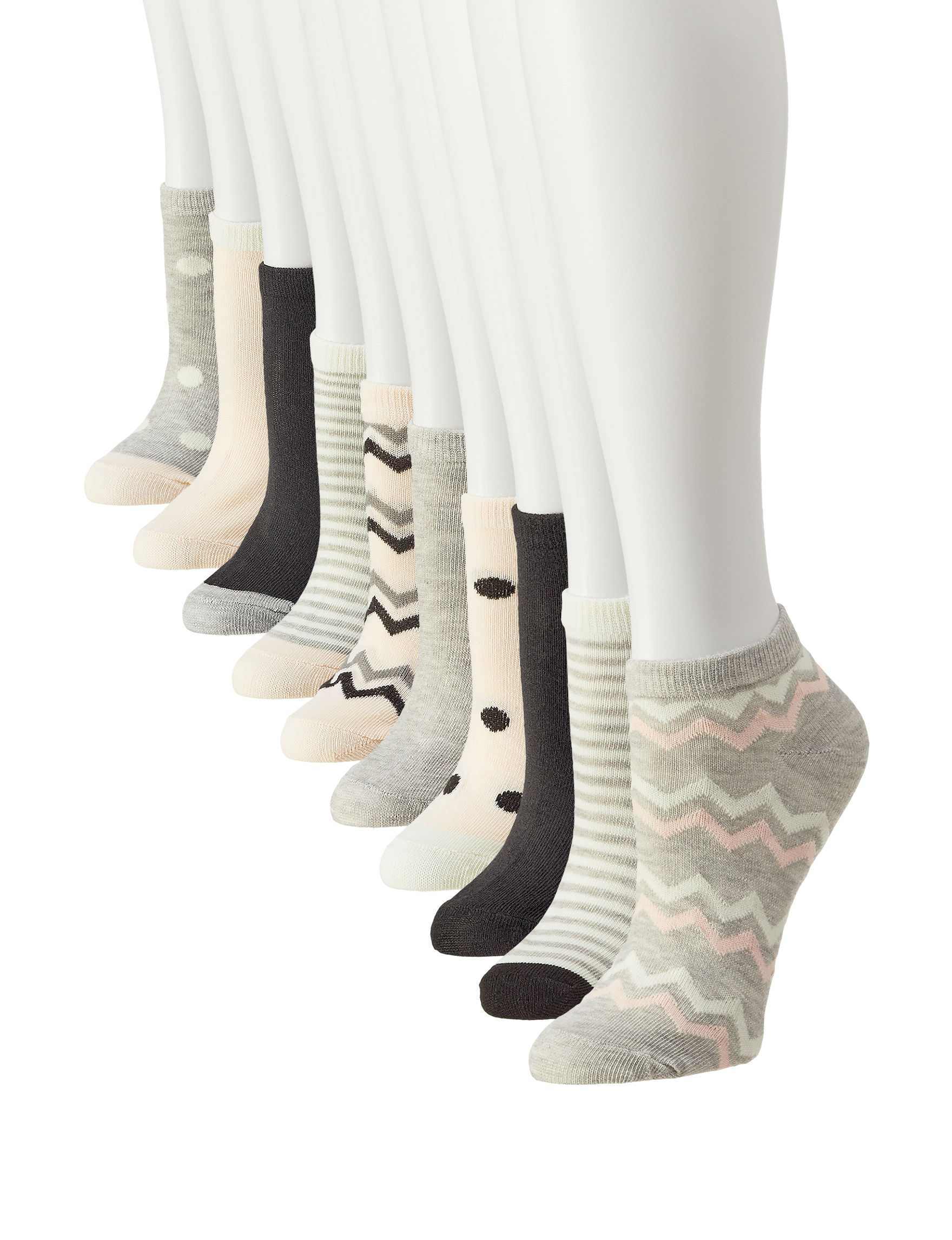 Modern Herritage Grey / Multi Socks
