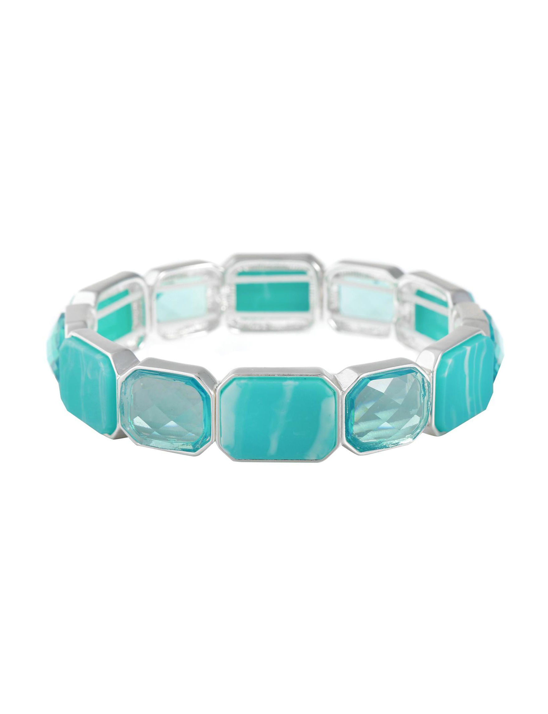 Gloria Vanderbilt Teal / Multi Bracelets Fashion Jewelry