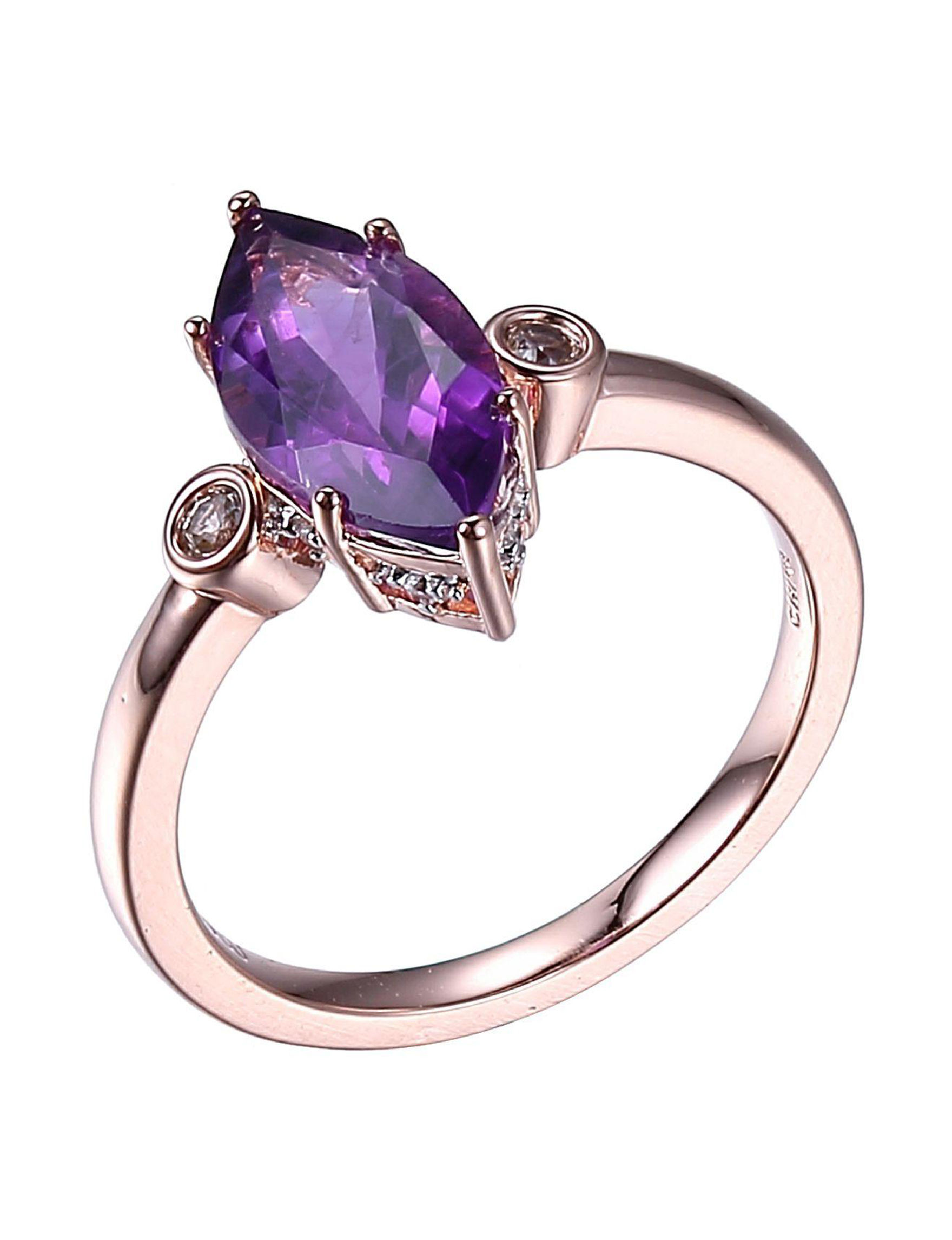PAJ INC. Amethyst Rings Fine Jewelry