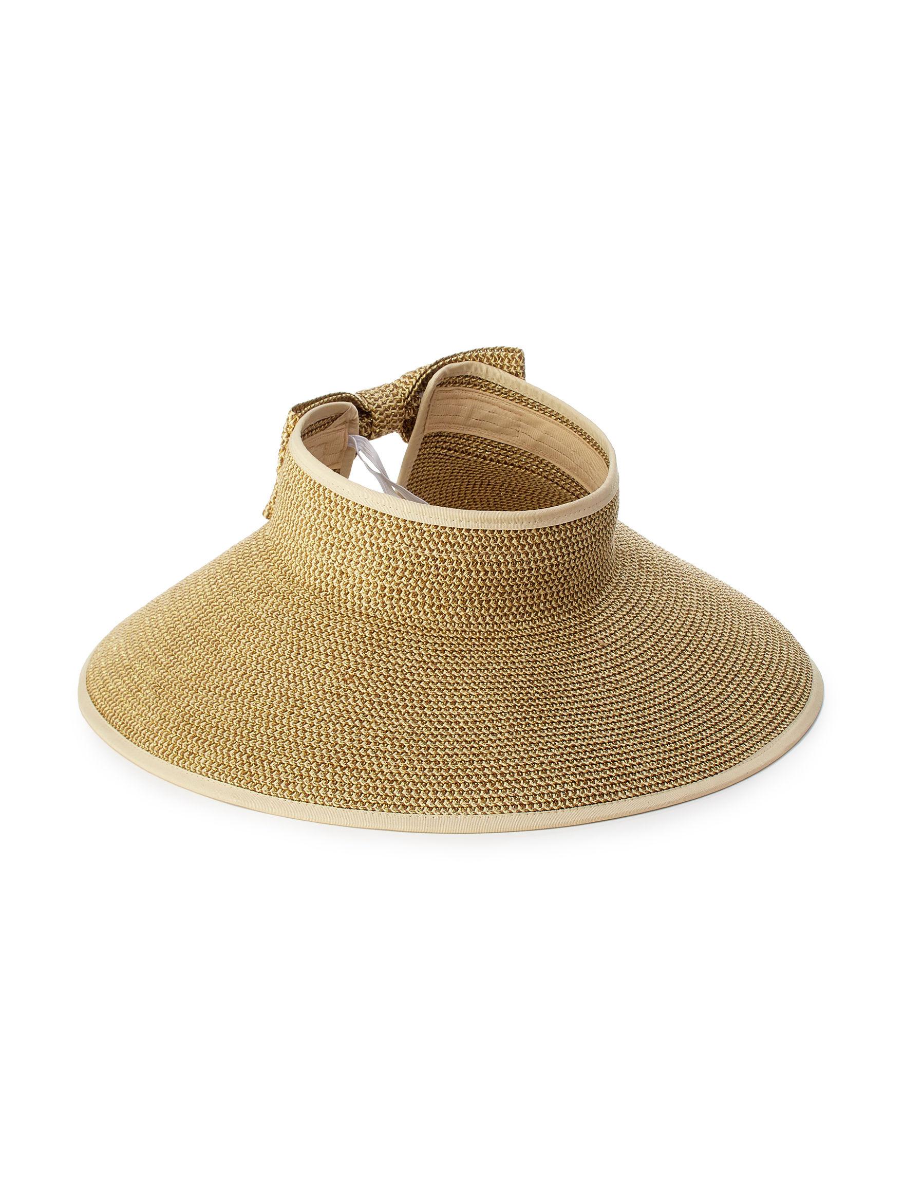 David & Young Beige Hats & Headwear