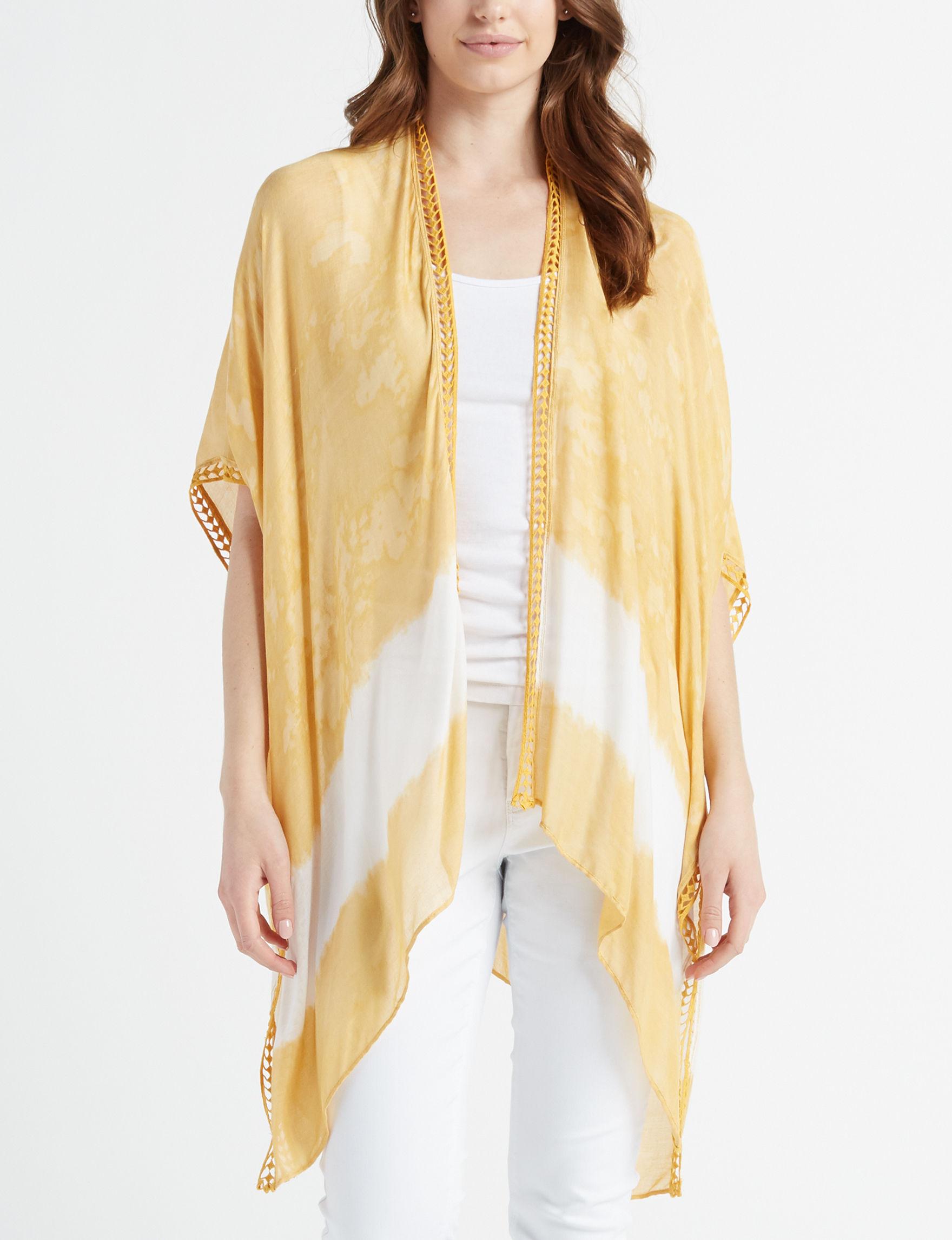 Cejon Yellow Multi Kimonos & Toppers