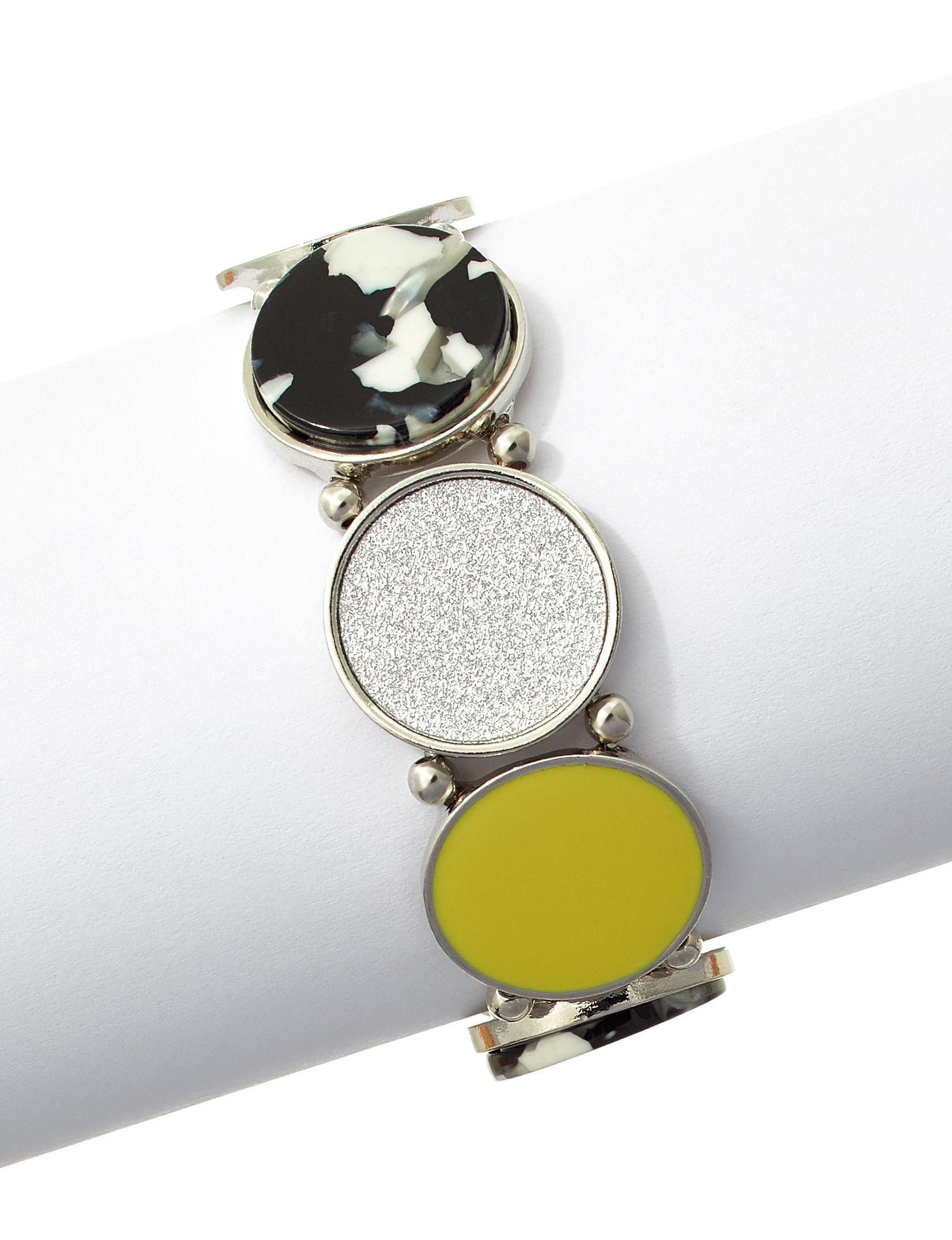 Hannah Silver / Multi Bracelets Fashion Jewelry