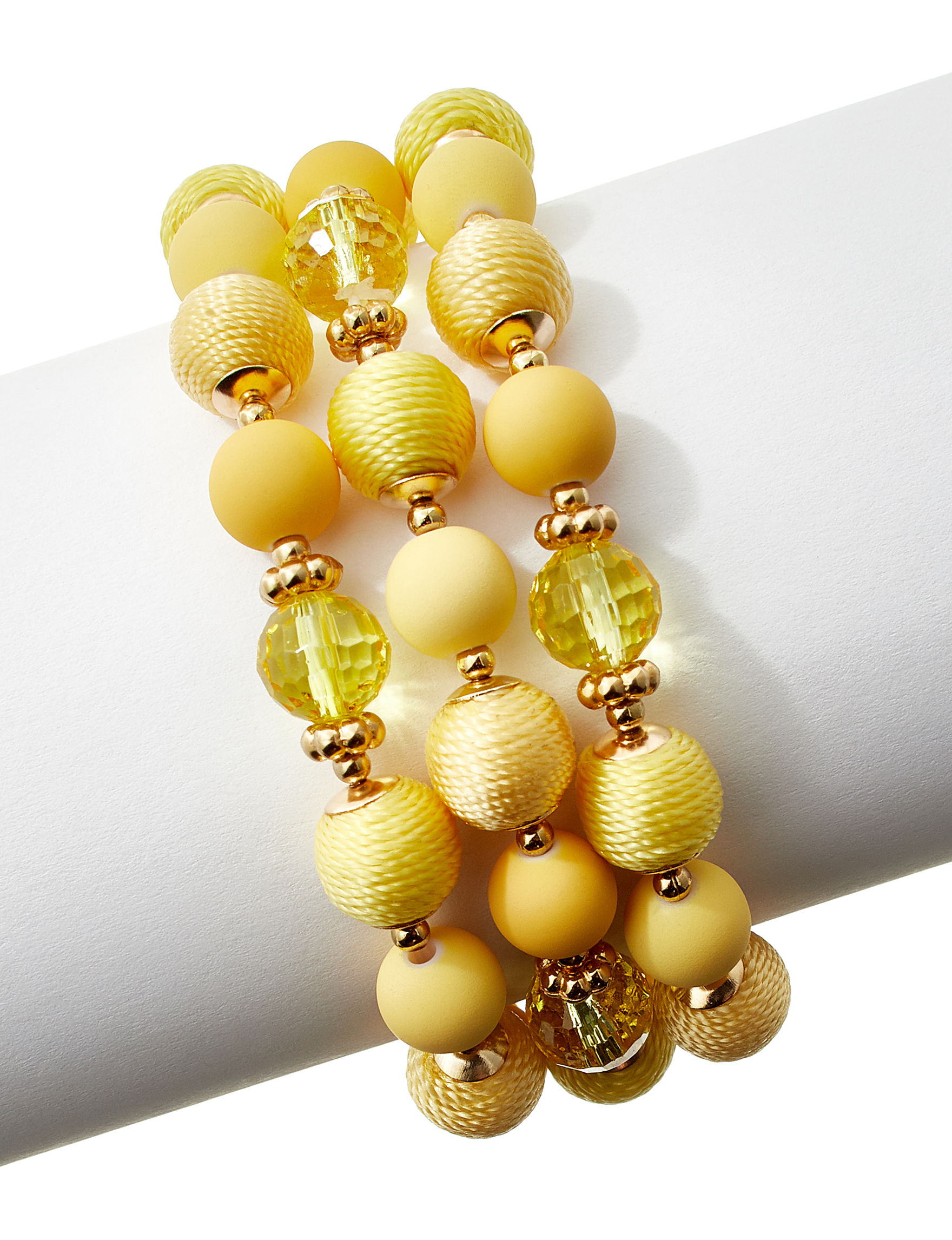 Hannah Yellow Bracelets Fashion Jewelry