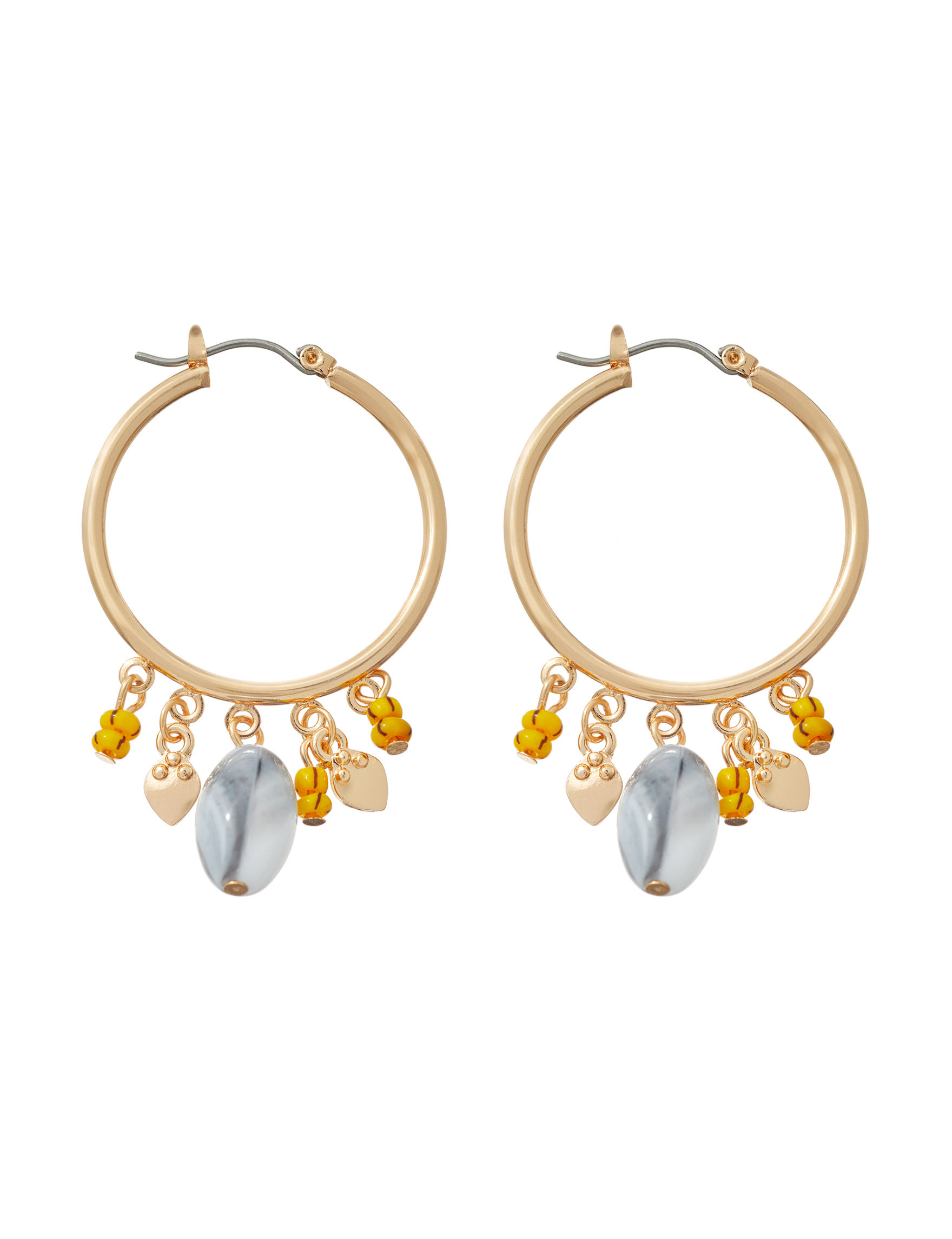 Hannah Gold / Multi Drops Earrings Fashion Jewelry