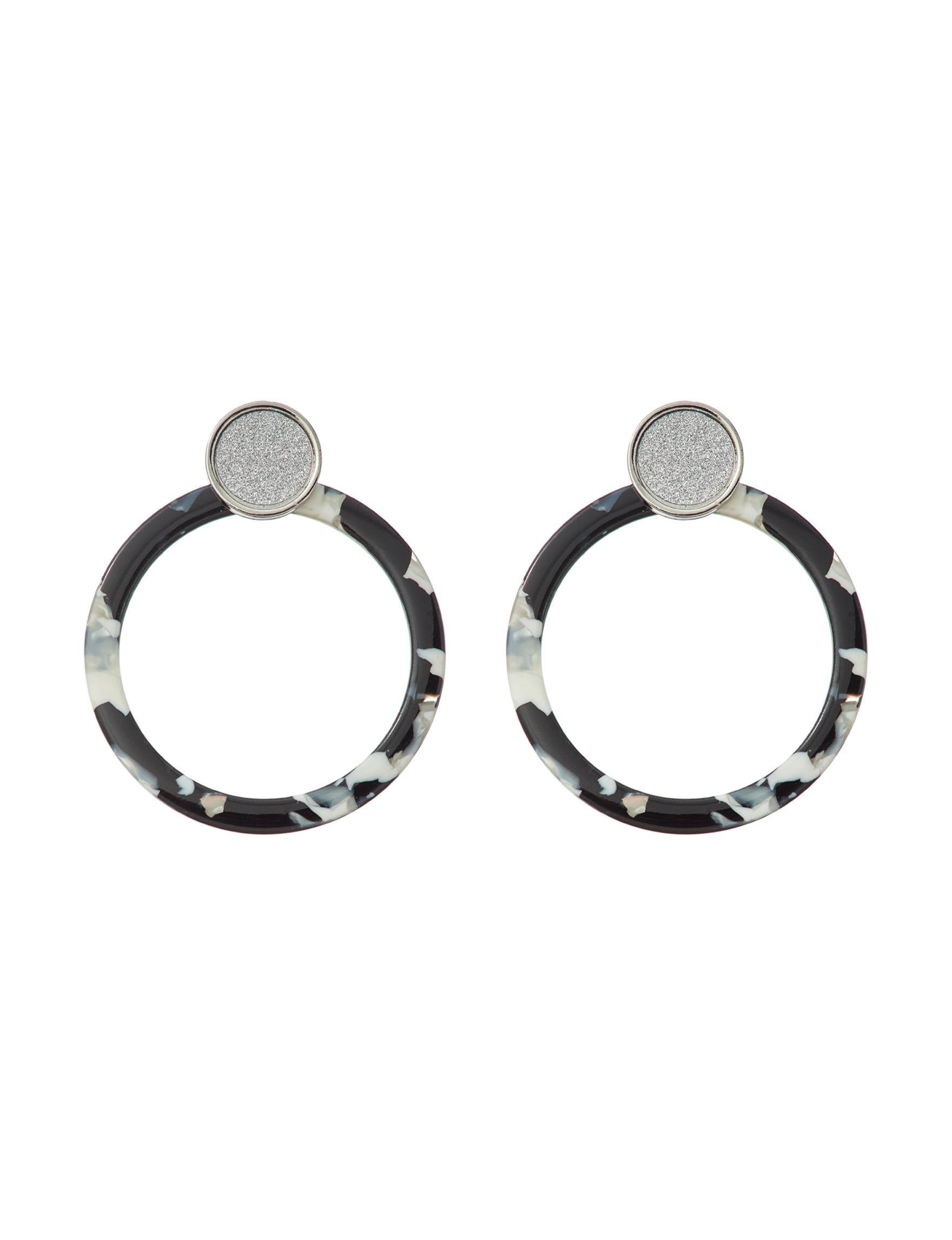 Hannah White / Multi Drops Earrings Fashion Jewelry