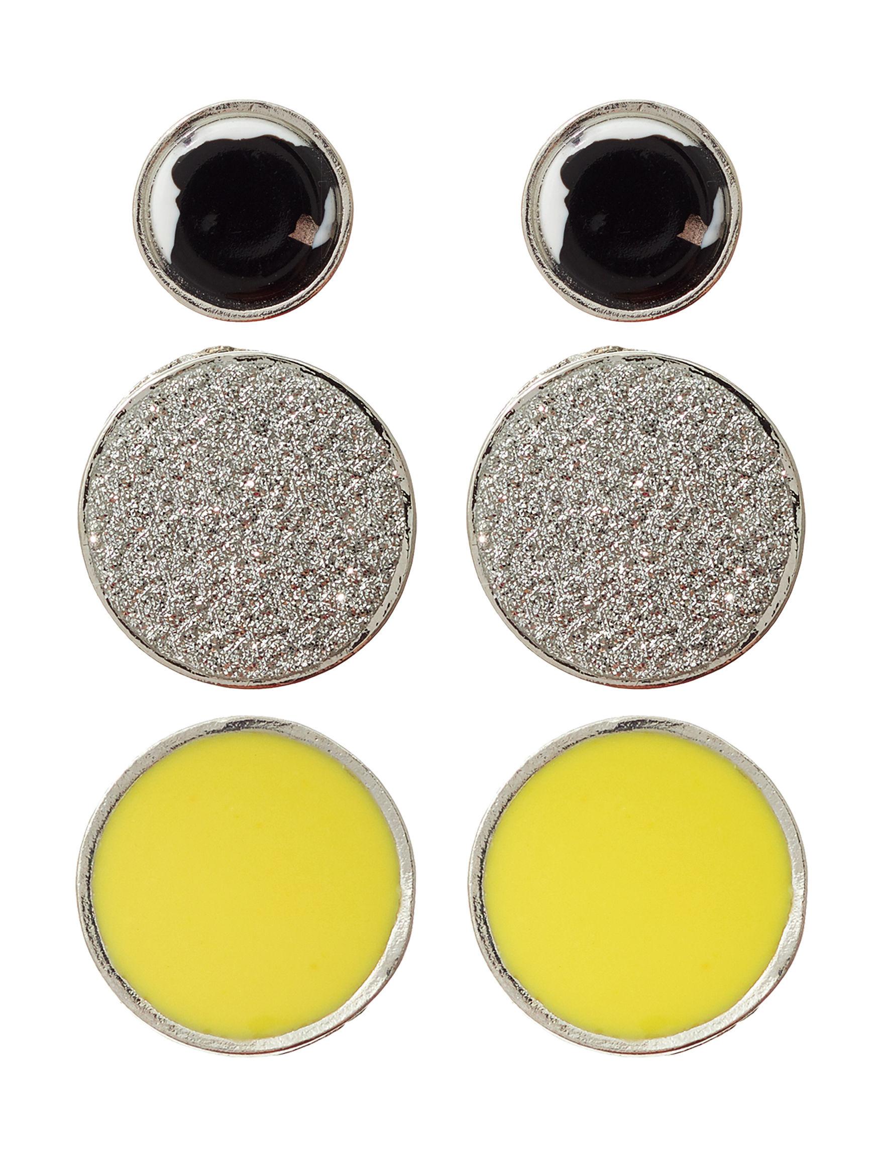 Hannah Silver / Multi Earrings Fashion Jewelry